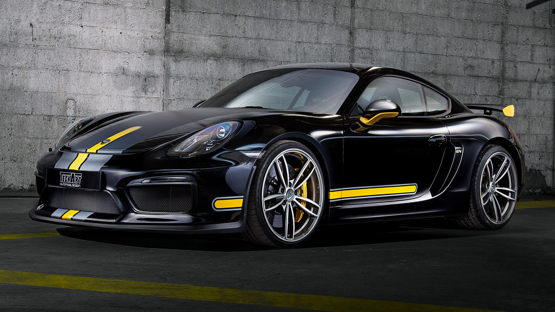 Porsche Cayman GT4 By TechArt (2016) Wallpapers And HD