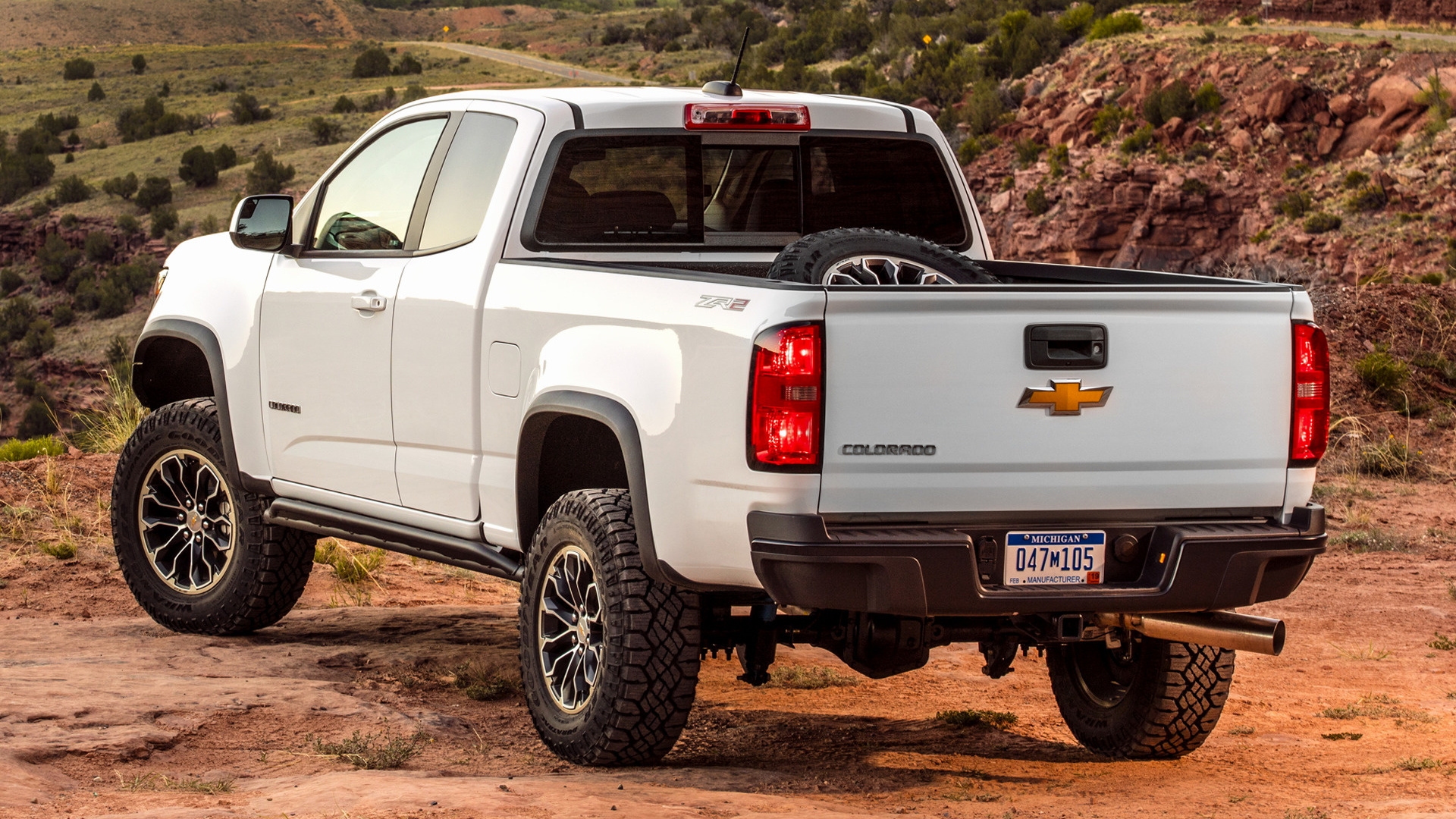 2017 Chevrolet Colorado ZR2 Extended Cab - Wallpapers and ...