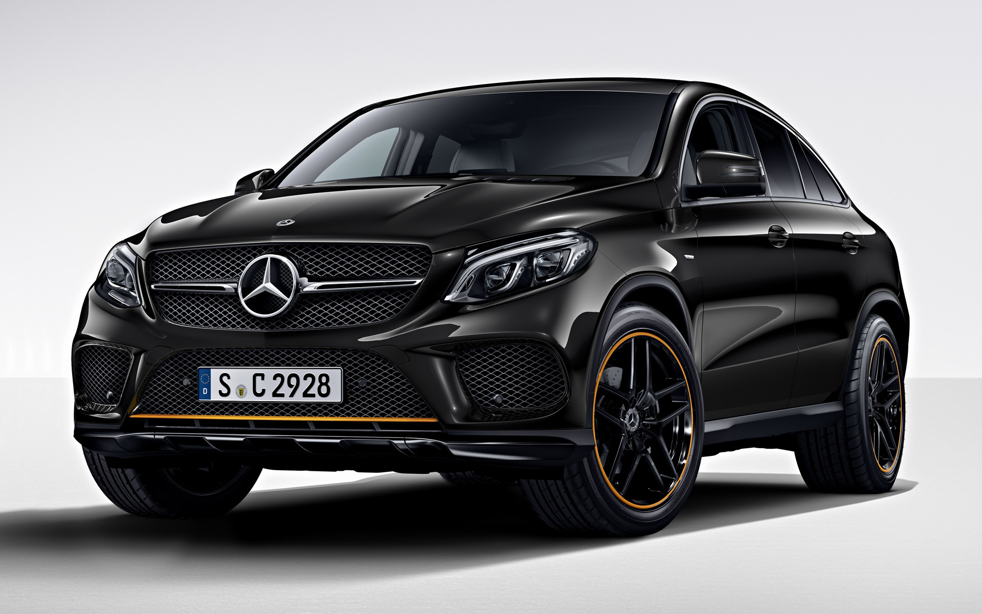 mercedes benz gle class coupe orangeart edition 2017 wallpapers and hd images car pixel. Black Bedroom Furniture Sets. Home Design Ideas