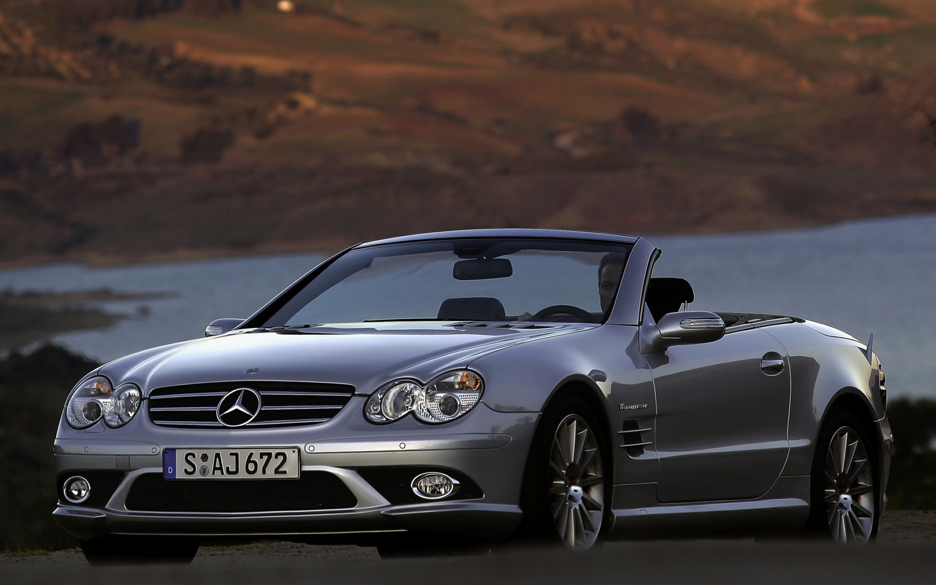 2006 mercedes benz sl 55 amg wallpapers and hd images. Black Bedroom Furniture Sets. Home Design Ideas