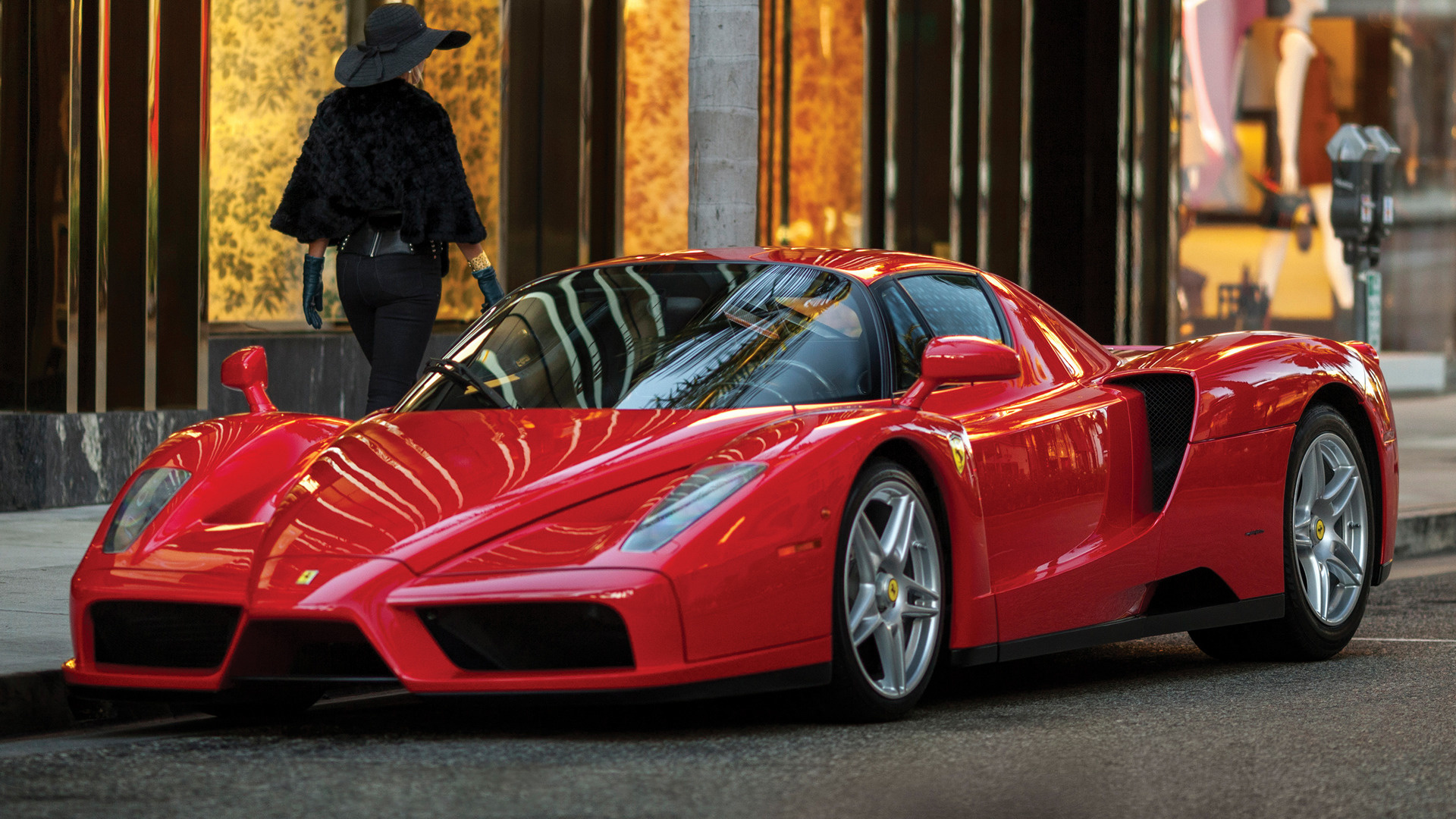 2002 Enzo Ferrari Us Wallpapers And Hd Images Car Pixel