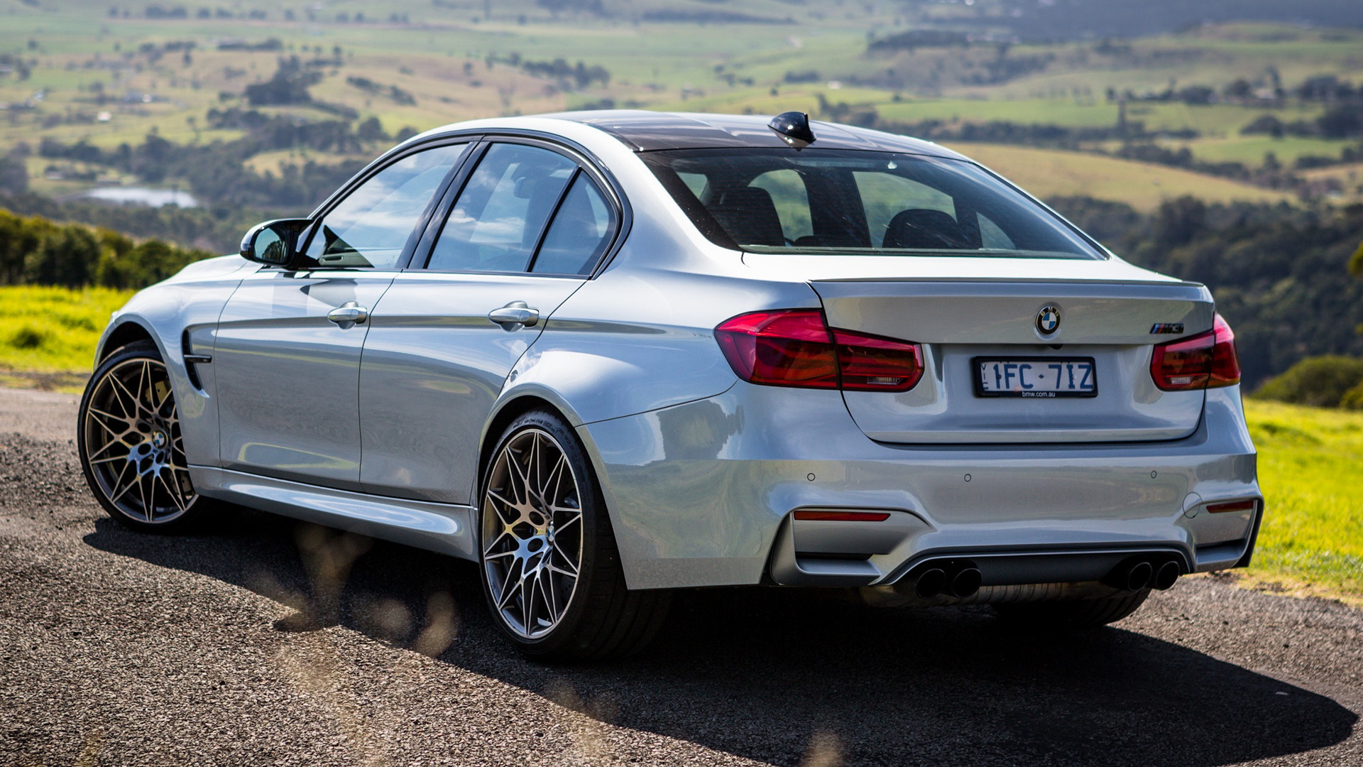 bmw m3 competition package (2016) au wallpapers and hd images - car