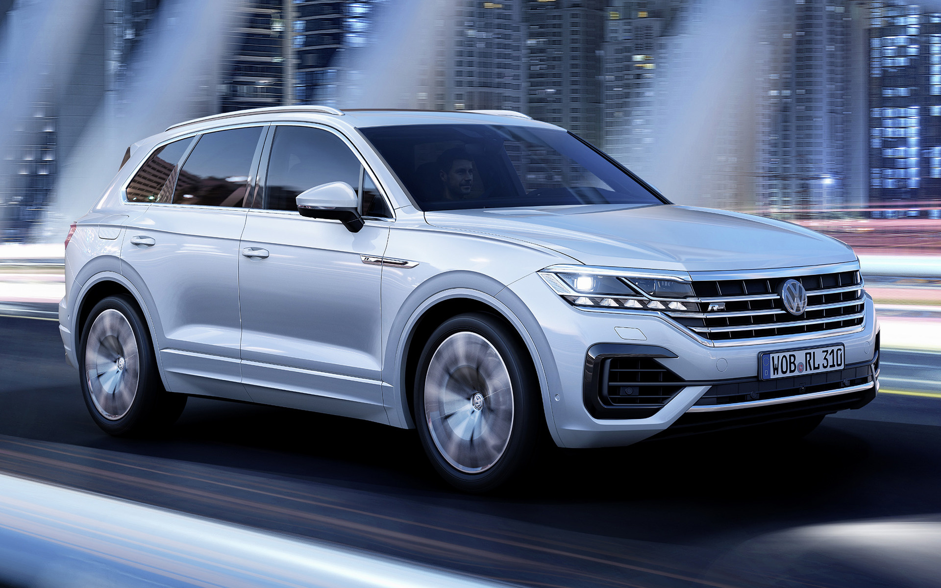 2018 Volkswagen Touareg R-Line - Wallpapers and HD Images ...