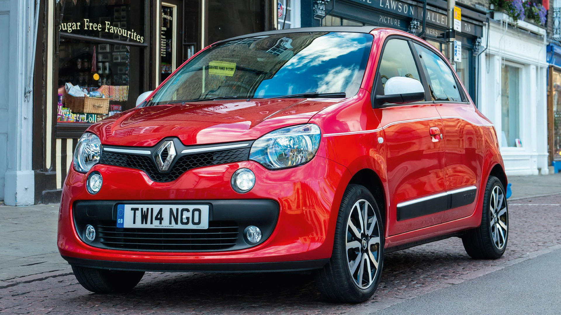 renault twingo dynamique 2014 uk wallpapers and hd images car pixel. Black Bedroom Furniture Sets. Home Design Ideas