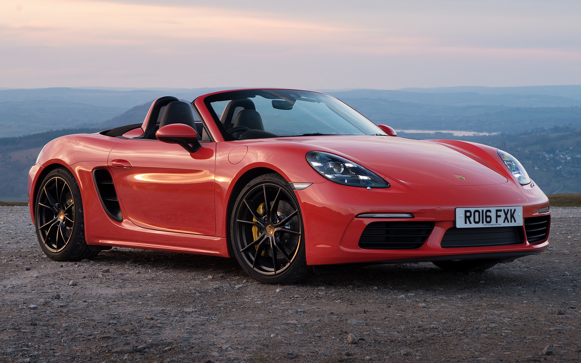 porsche 718 boxster s 2016 uk wallpapers and hd images