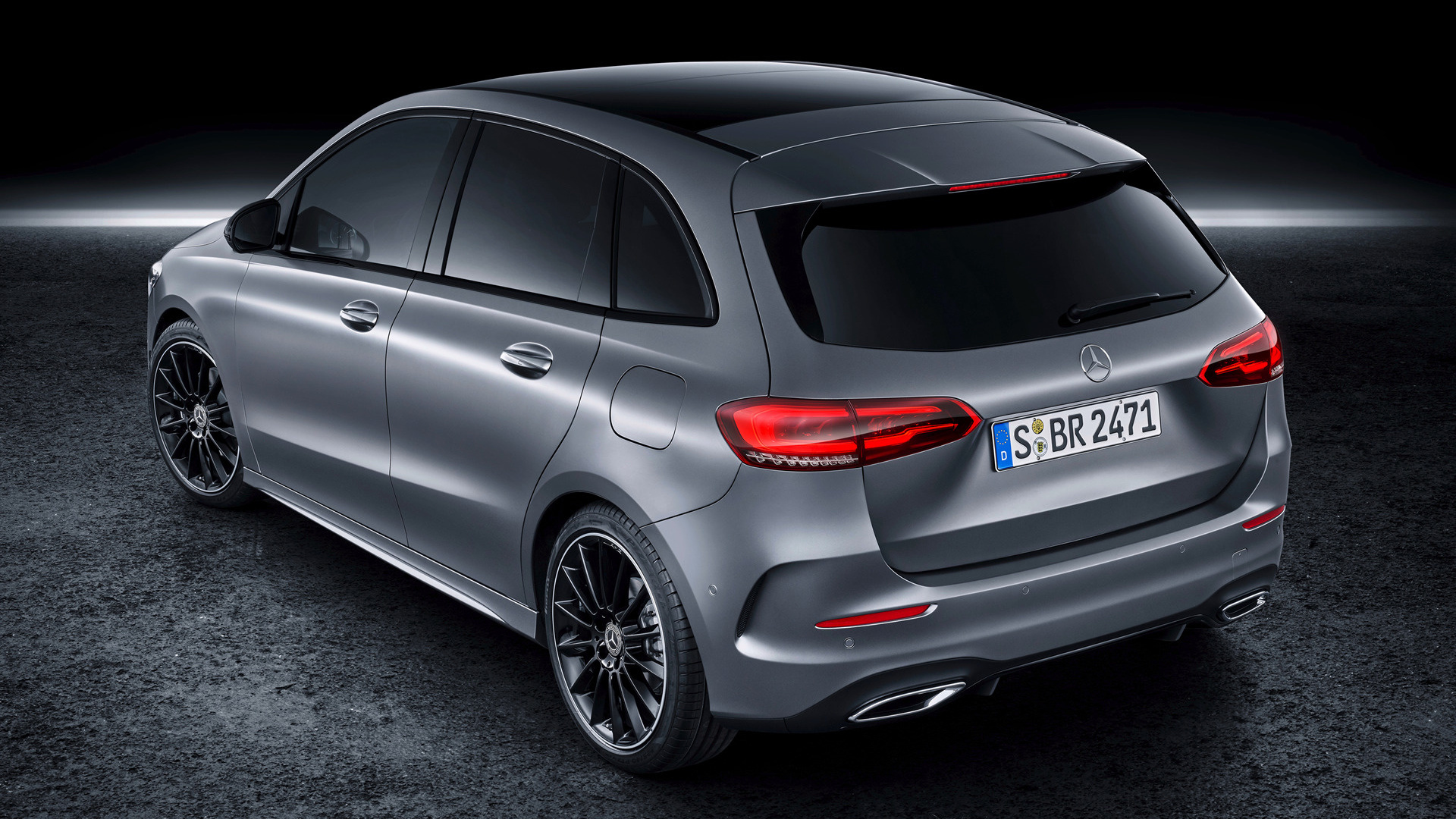 2019 mercedesbenz bclass amg line wallpapers and hd