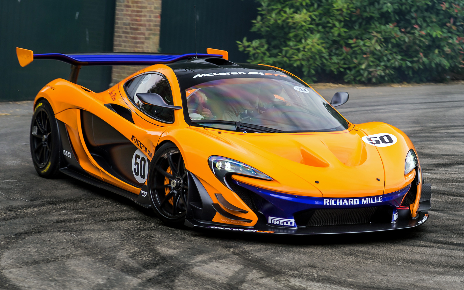 P And W BMW >> 2015 McLaren P1 GTR - Wallpapers and HD Images | Car Pixel