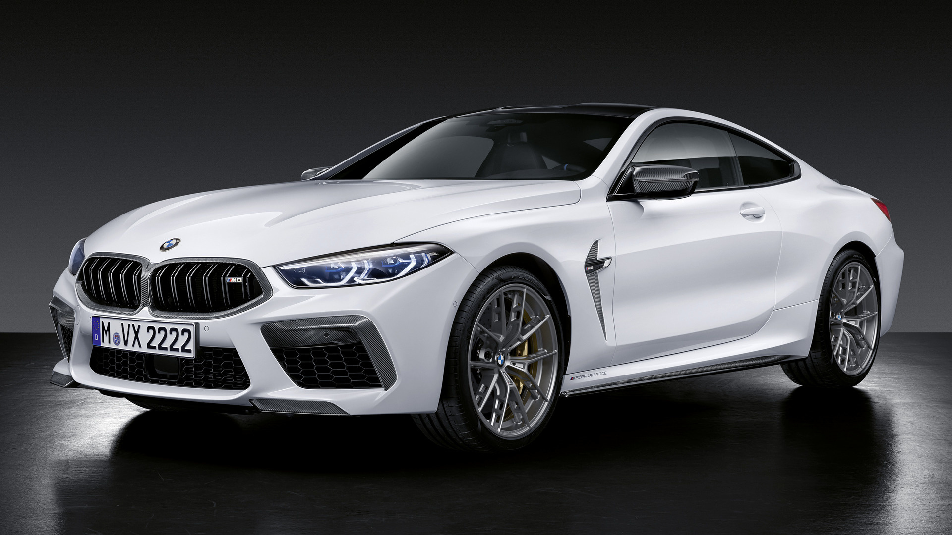 2019 Bmw M8 Coupe Competition With M Performance Parts