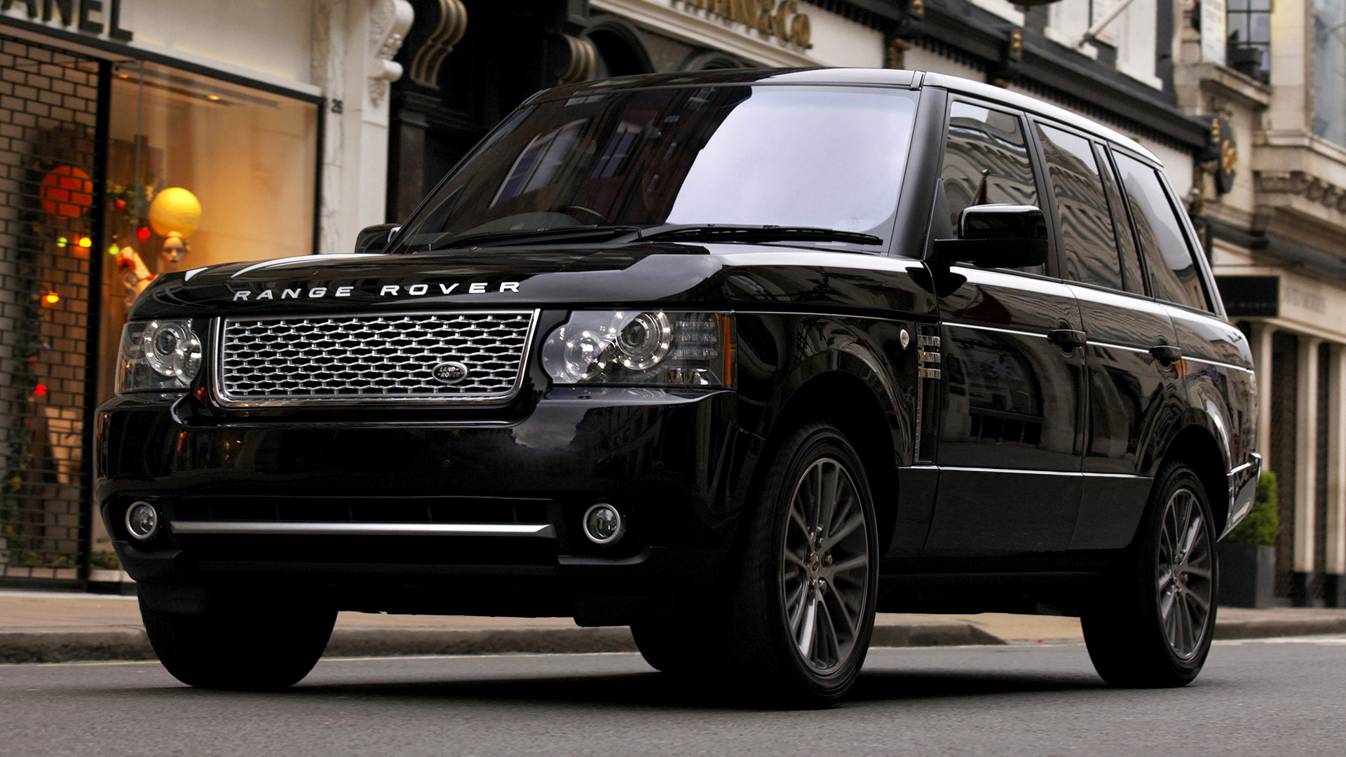 2010 Range Rover Autobiography Black (UK) - Wallpapers and ...