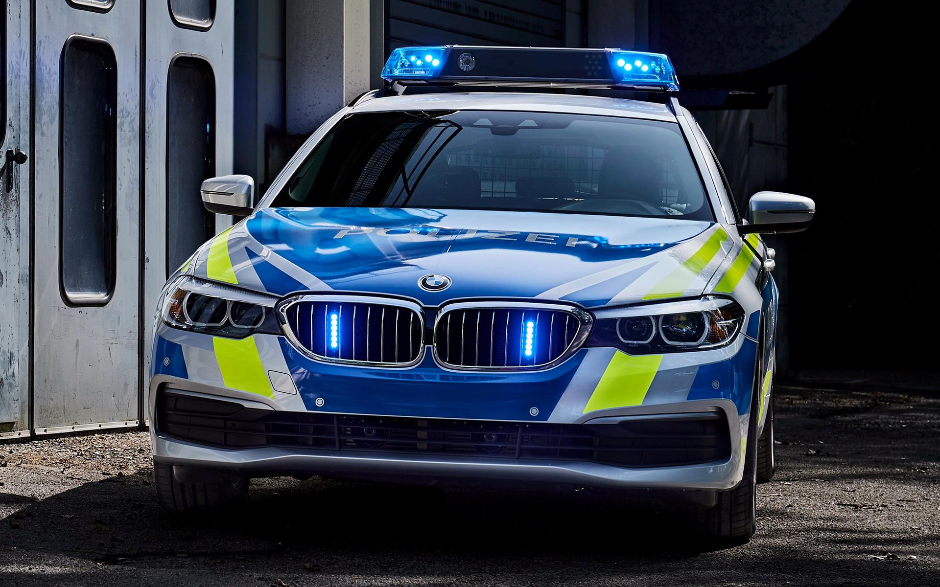 2017 BMW 5 Series Touring Polizei