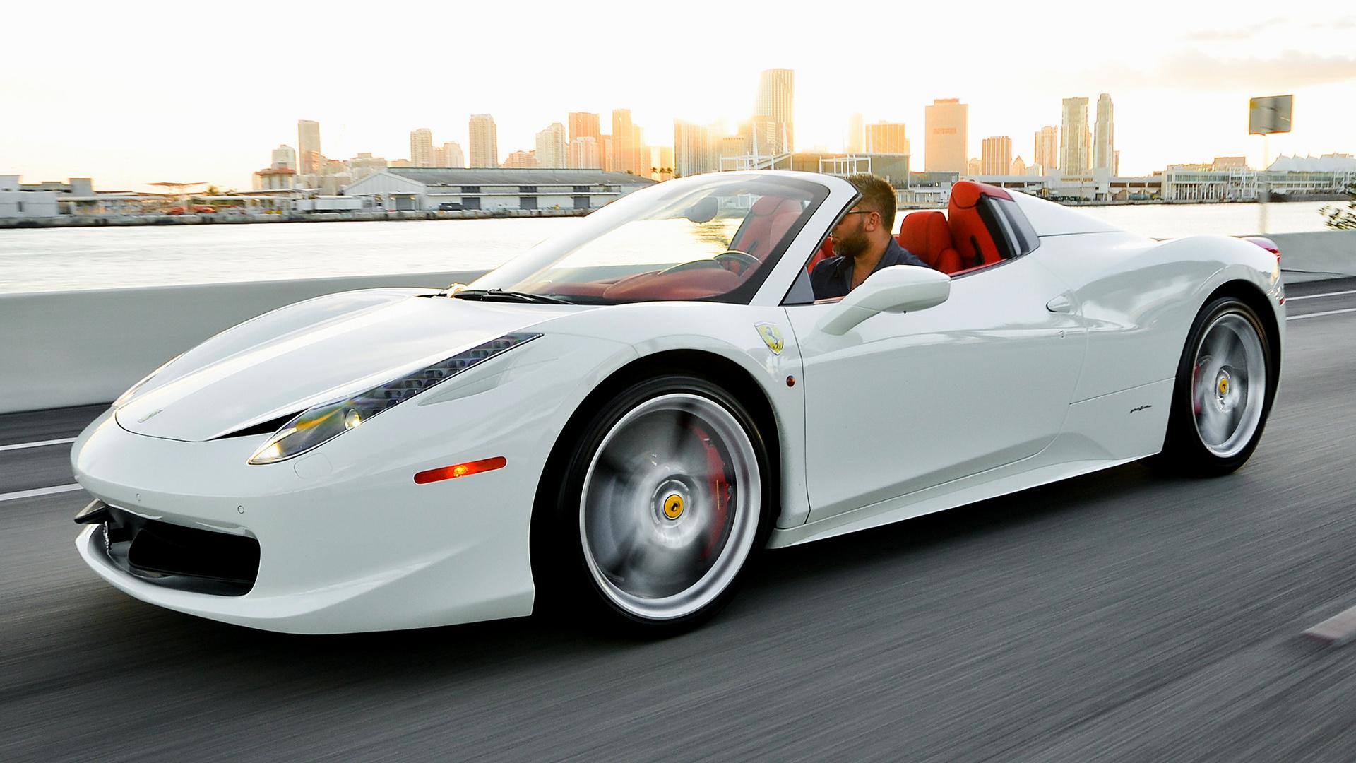 HD 169 Wide 85 Ferrari 458 Spider