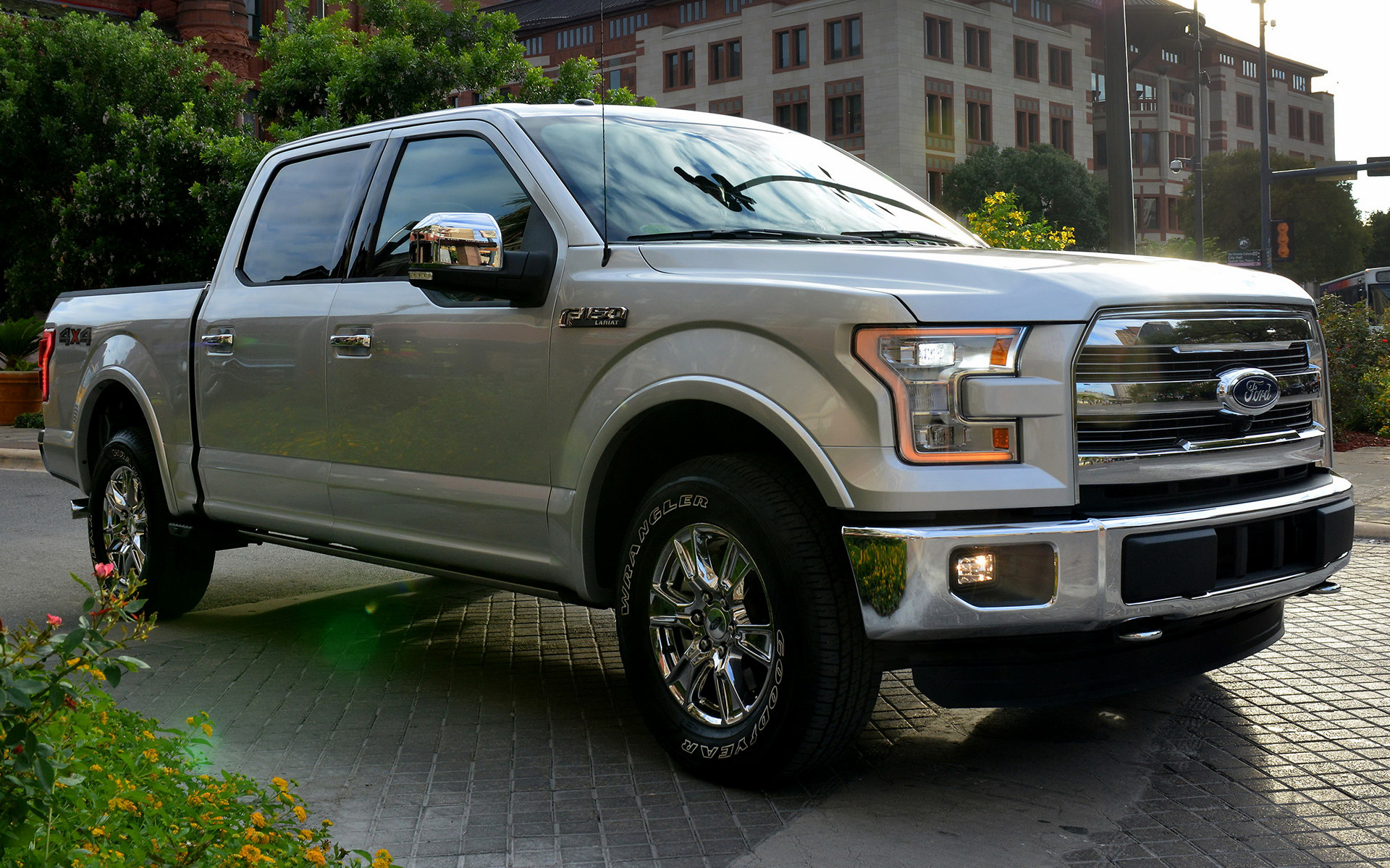 Dodge Ram 2015 >> 2015 Ford F-150 Lariat SuperCrew - Wallpapers and HD ...