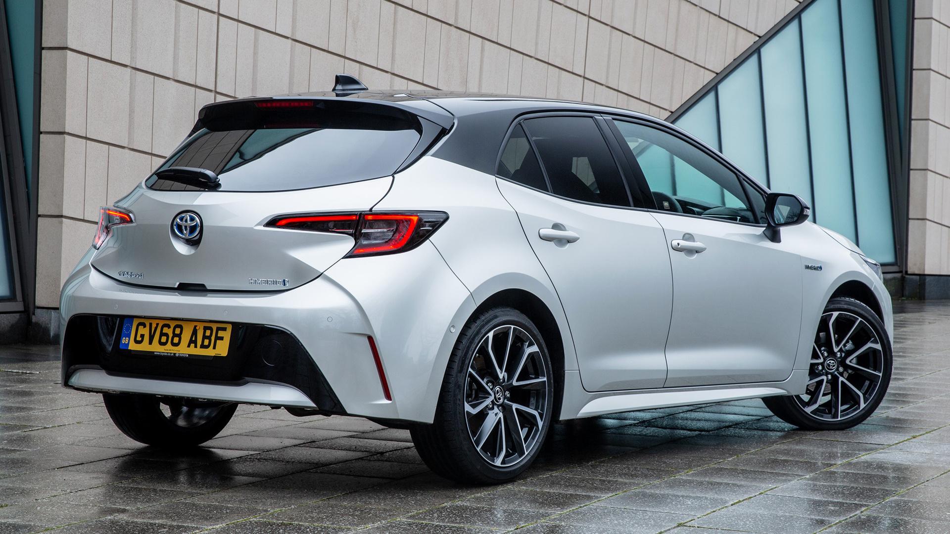 2019 Toyota Corolla Hybrid Uk Fonds D 233 Cran Et Images
