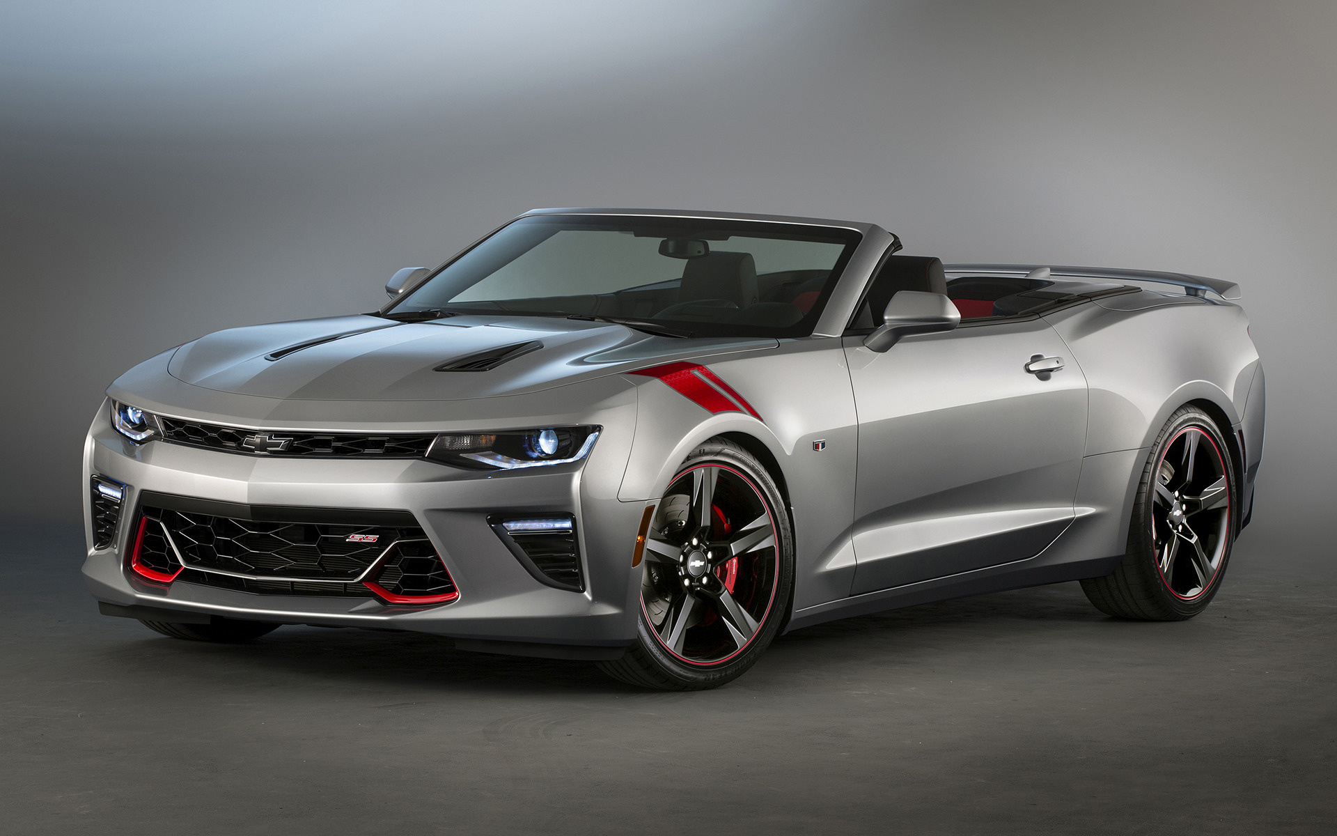 2015 Chevrolet Camaro Ss Convertible Red Accent Concept Hintergrundbilder Und Wallpaper In Hd Car Pixel