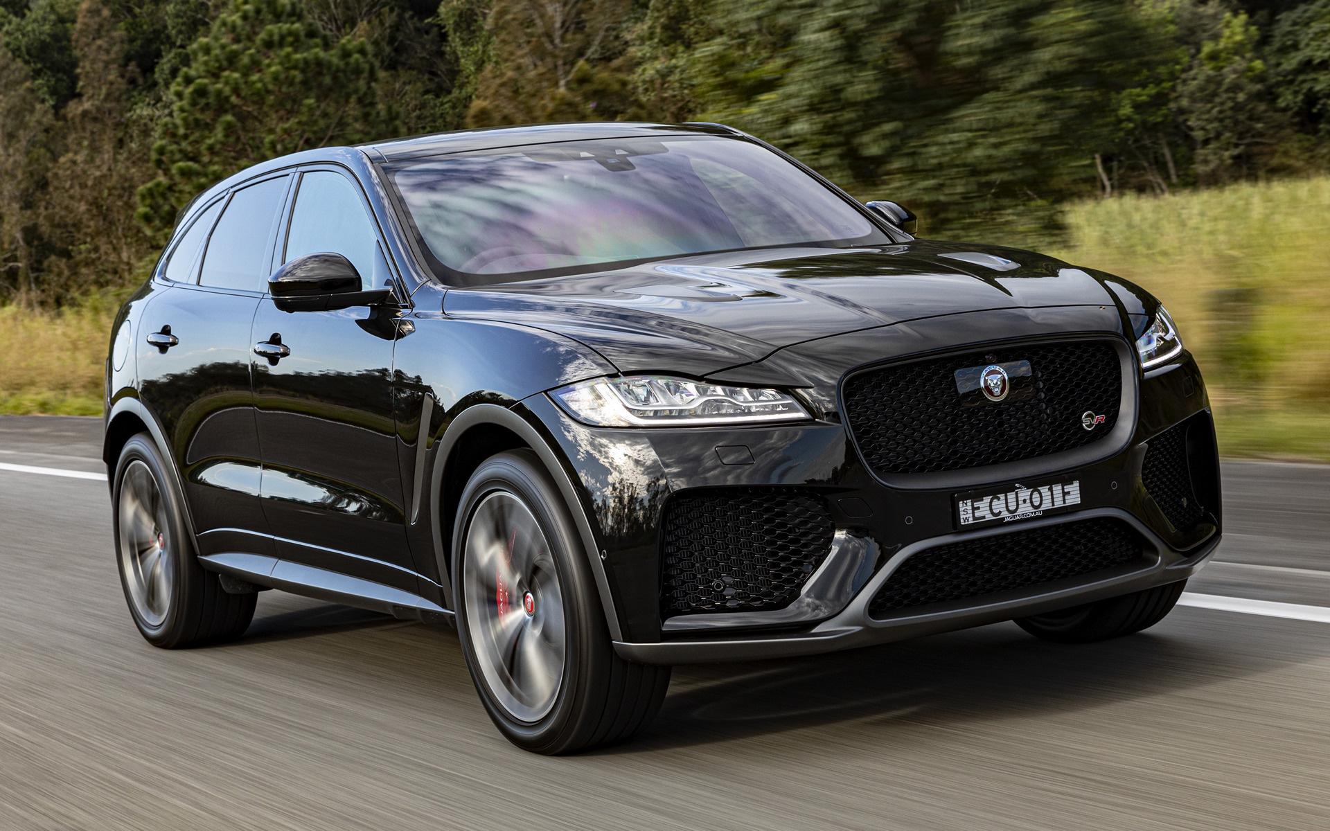 2019 Jaguar F-Pace SVR (AU) - Wallpapers and HD Images ...
