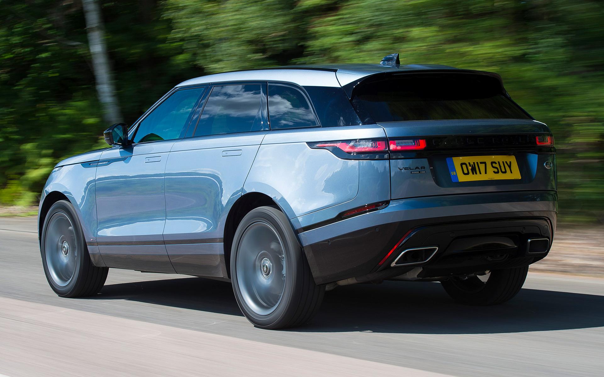 Range Rover Velar R-Dynamic Black Pack (2017) UK ...