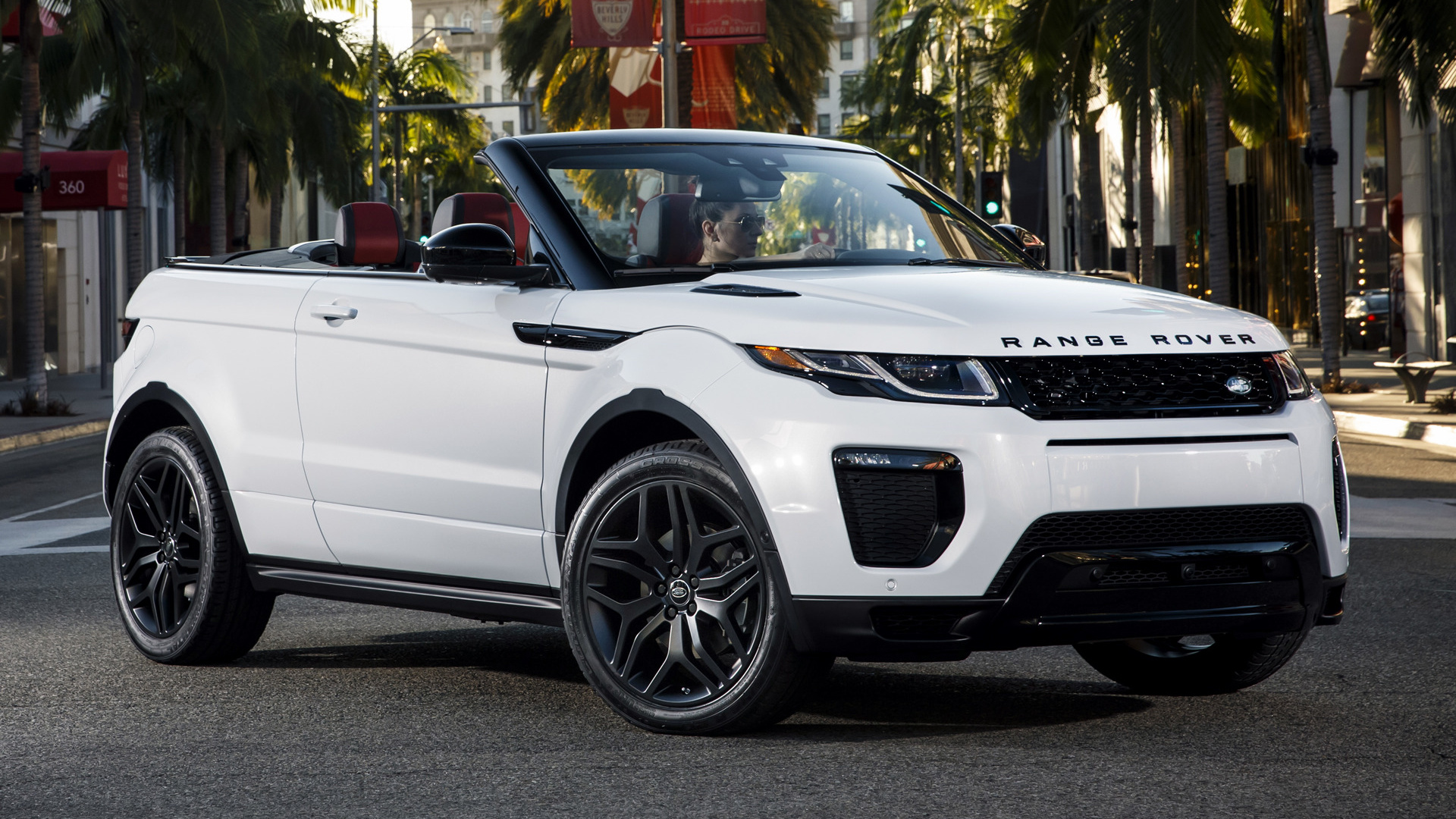 Range Rover Evoque Convertible Dynamic (2017) US ...