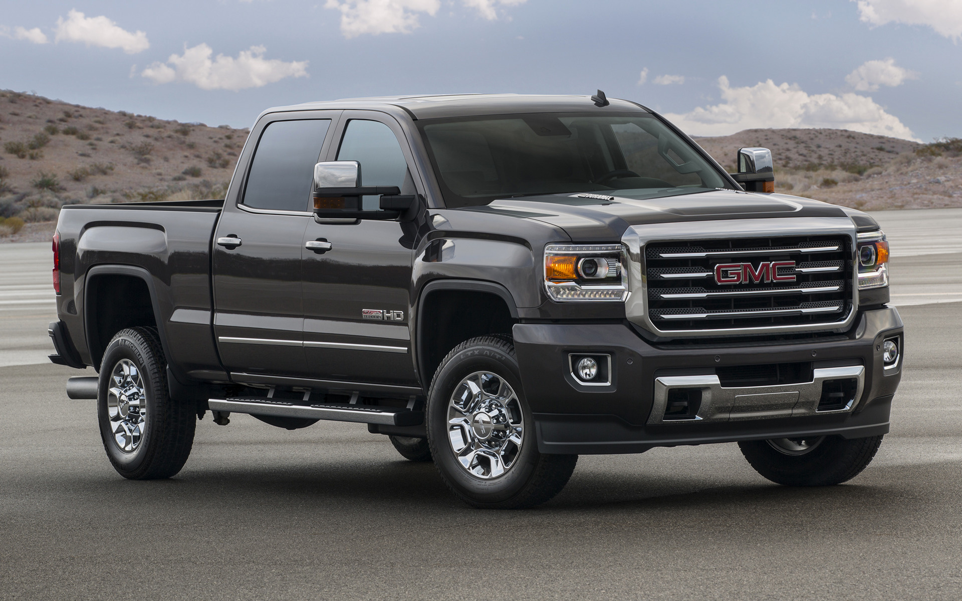 GMC Sierra All Terrain 2500 HD Crew Cab (2015) Wallpapers and HD Images - Car Pixel