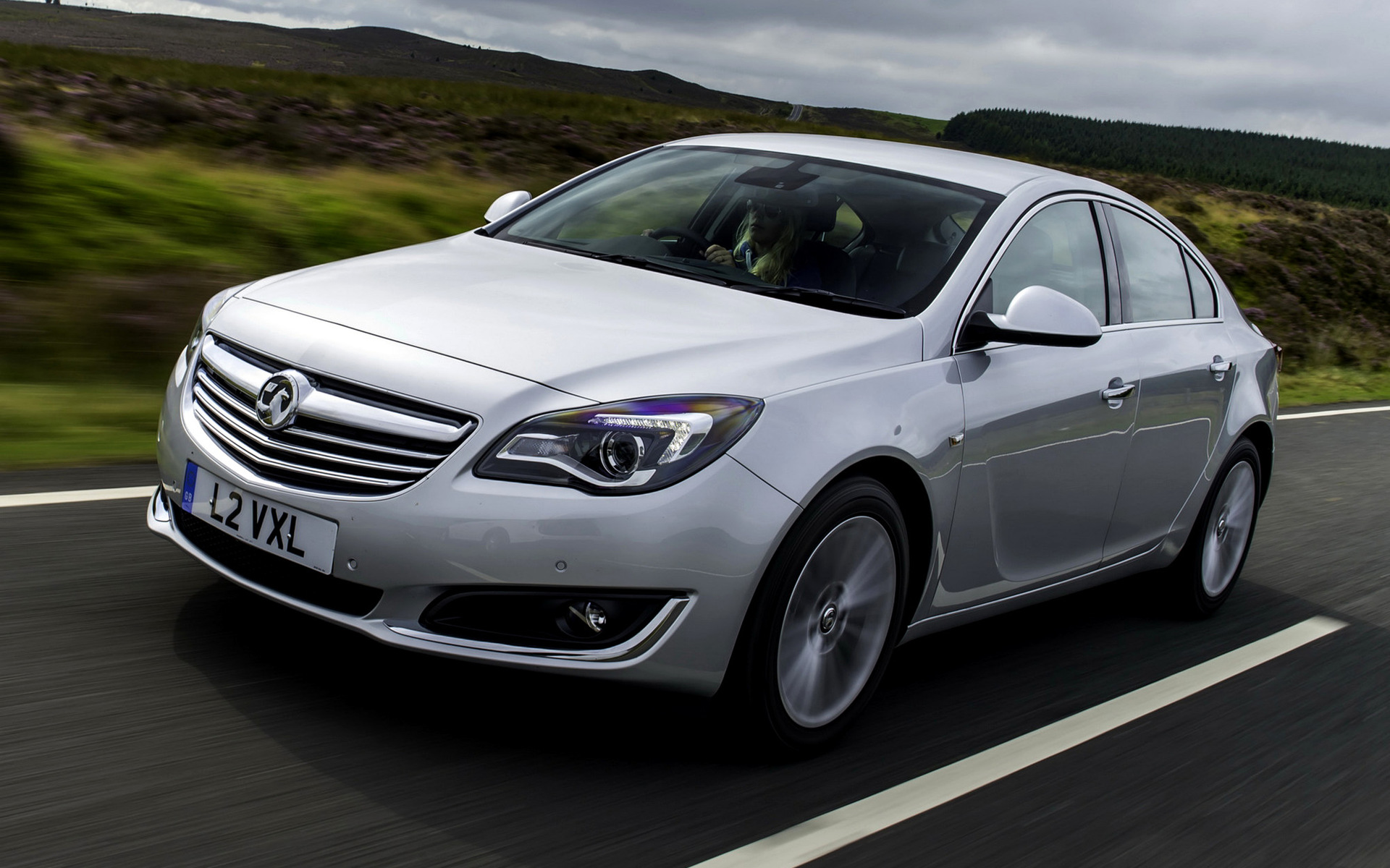 Vauxhall Insignia EcoFLEX Hatchback 2013 Wallpapers And