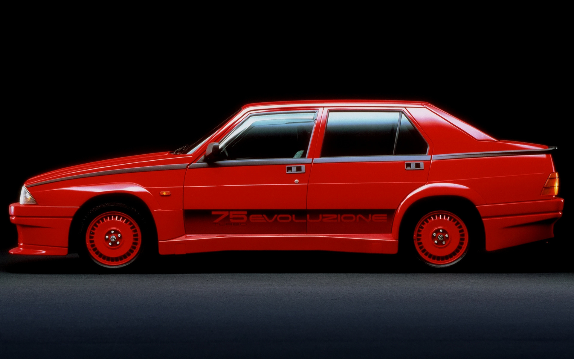 1987 Alfa Romeo 75 Turbo Evoluzione Wallpapers And Hd Images Car Pixel