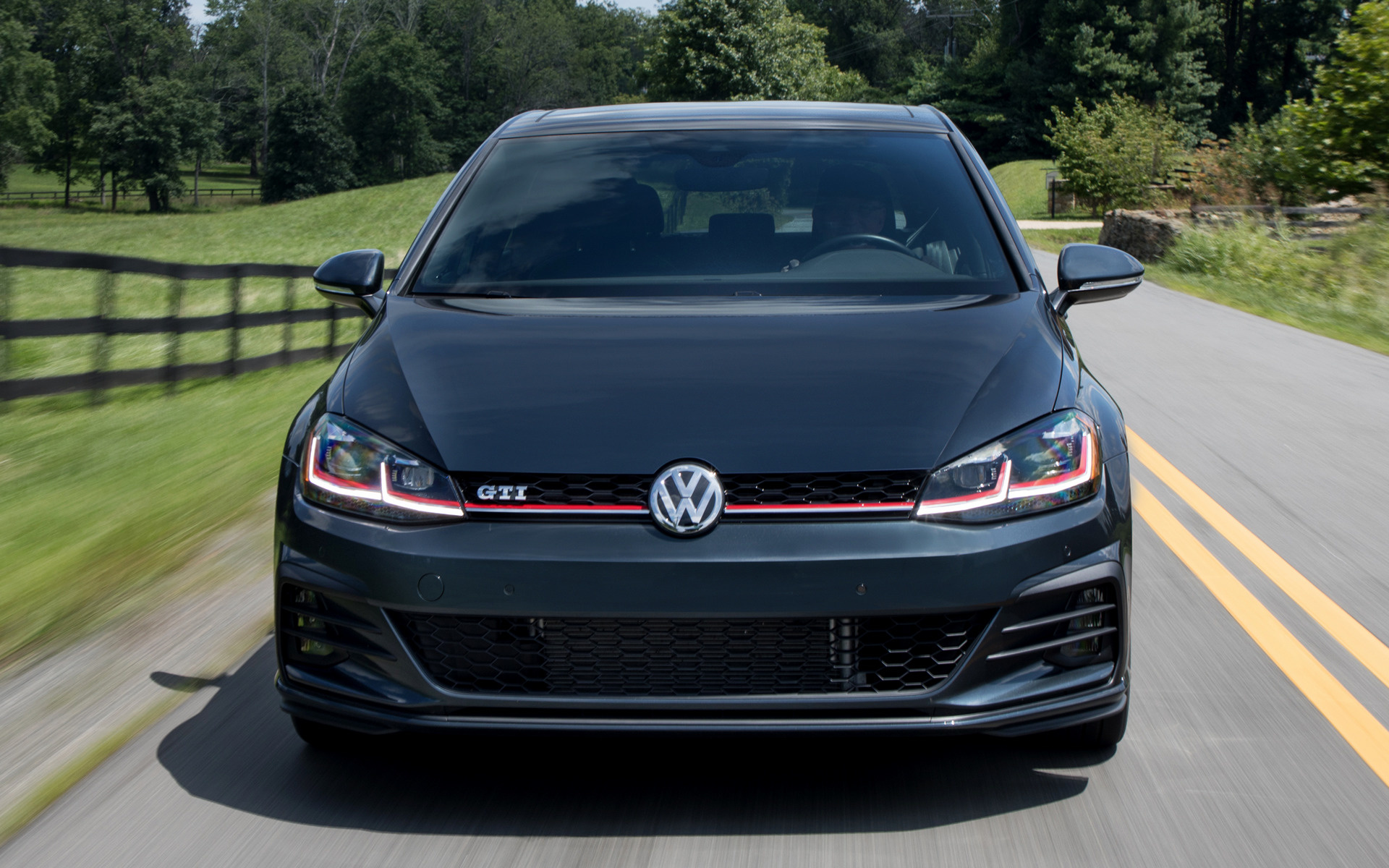 2018 Volkswagen Golf GTI 5-door (US) - Wallpapers and HD Images | Car Pixel