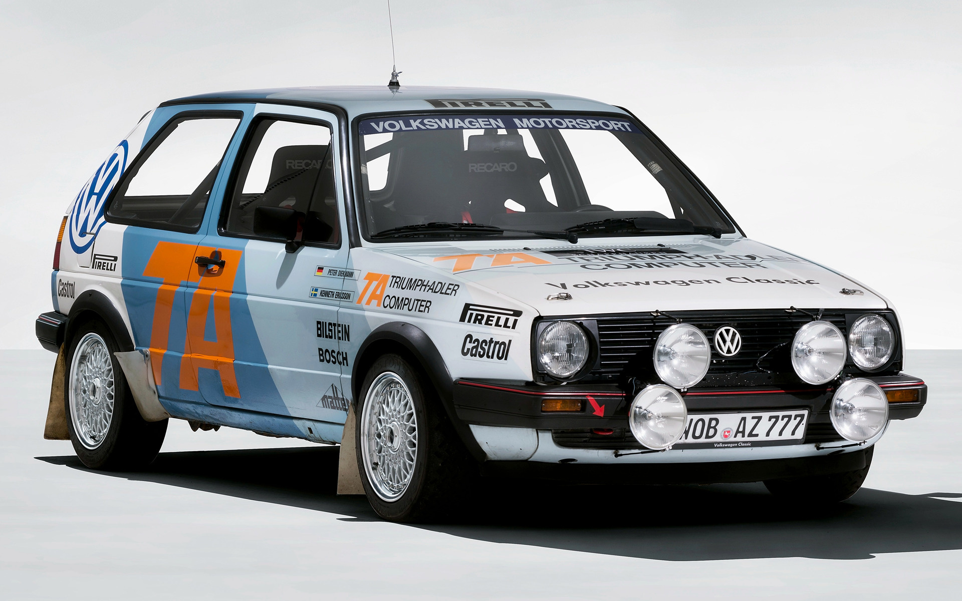 1984 Volkswagen Golf GTI Rally Car - Wallpapers and HD ...