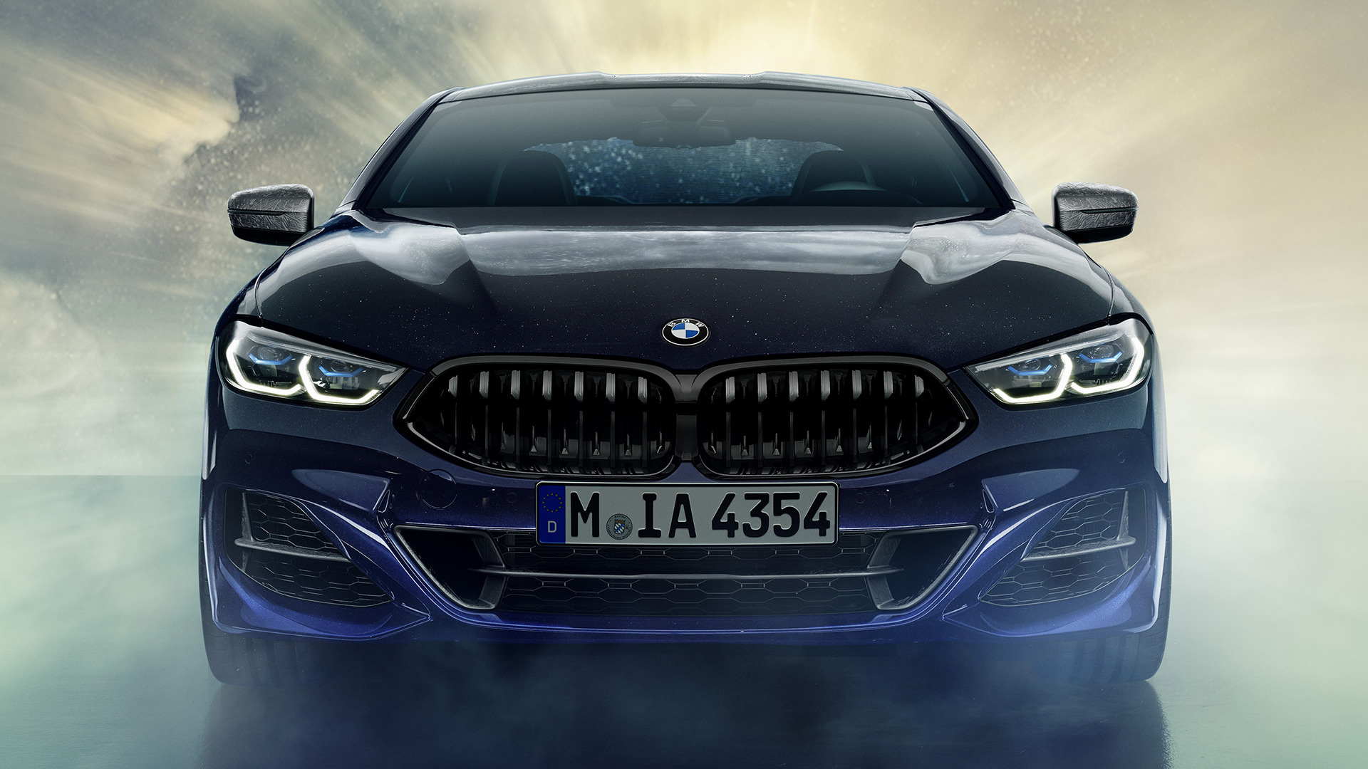 Hyundai Genesis Coupe >> 2019 BMW M850i Coupe Night Sky - Wallpapers and HD Images | Car Pixel