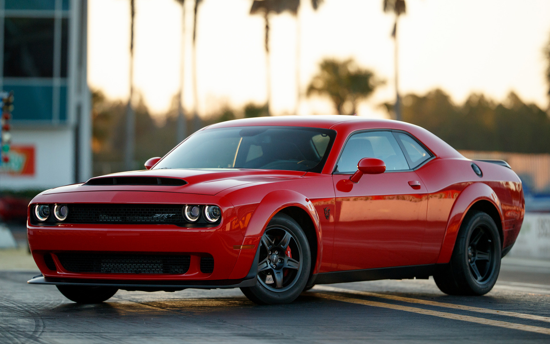 2018 Dodge Challenger Srt Demon Wallpapers And Hd Images