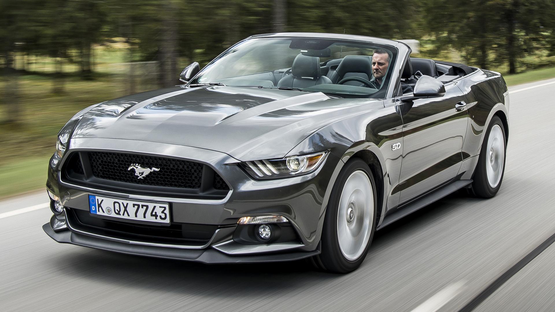 2016 Cadillac Convertible >> 2015 Ford Mustang GT Convertible (EU) - Wallpapers and HD ...