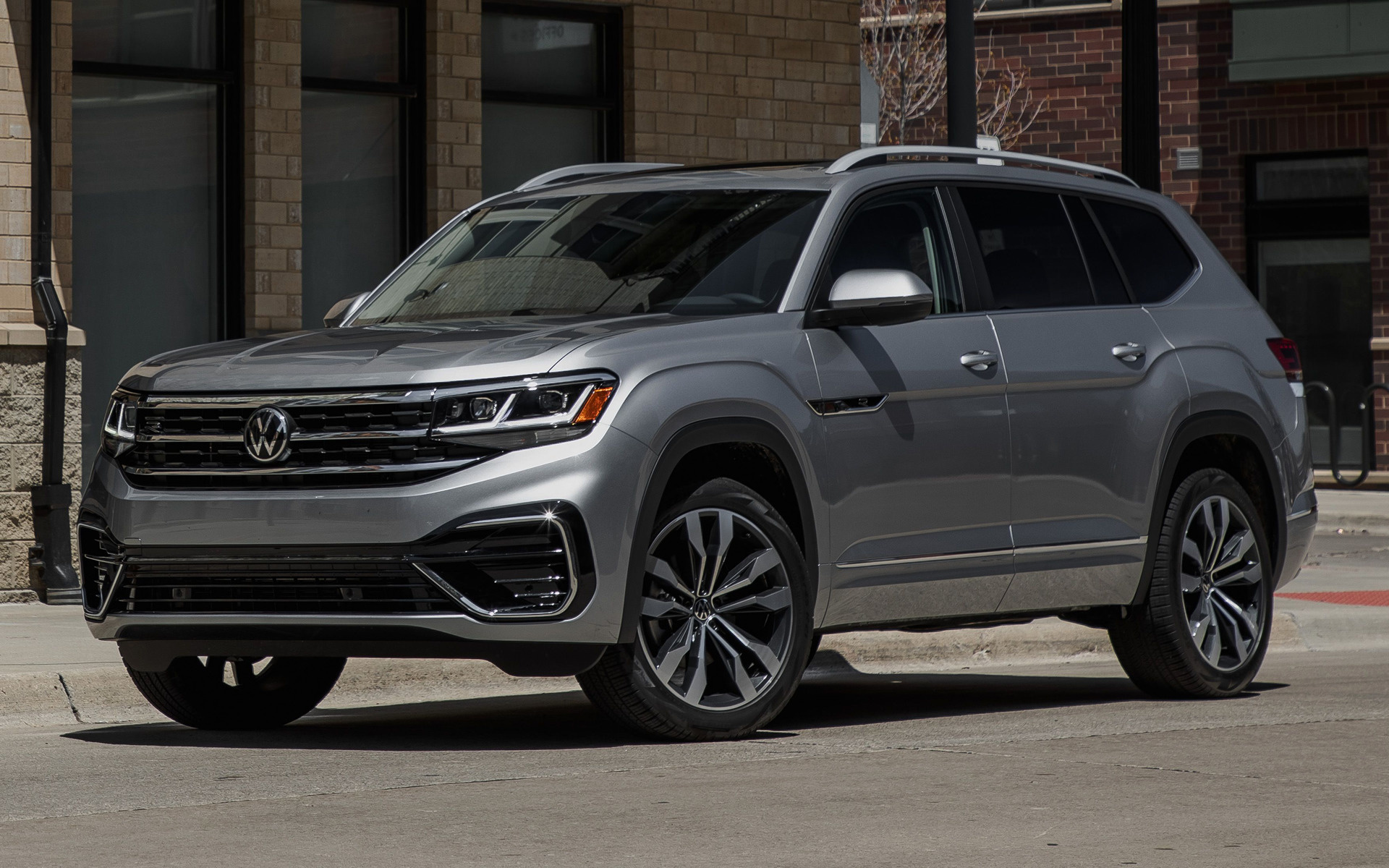 Cross Chrysler Jeep >> 2021 Volkswagen Atlas R-Line - Wallpapers and HD Images ...