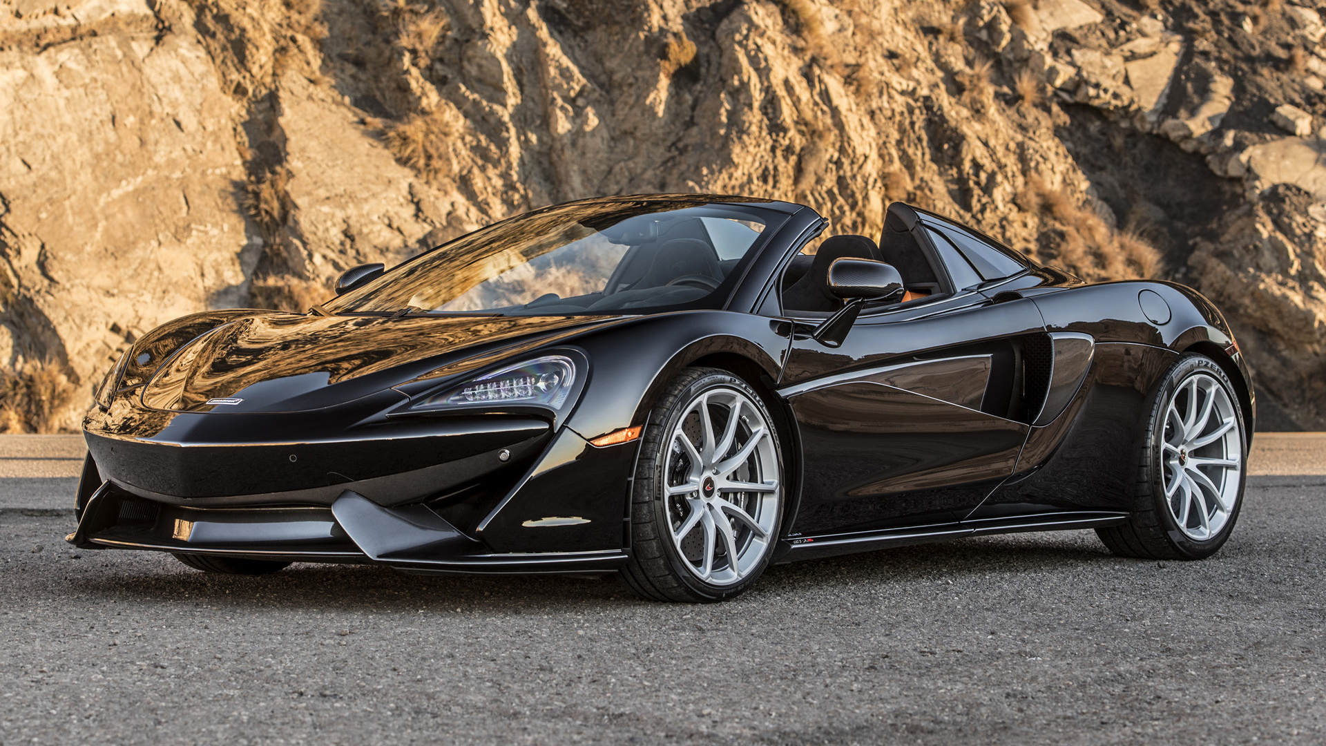 2018 McLaren 570S Spider (US) - Wallpapers and HD Images ...