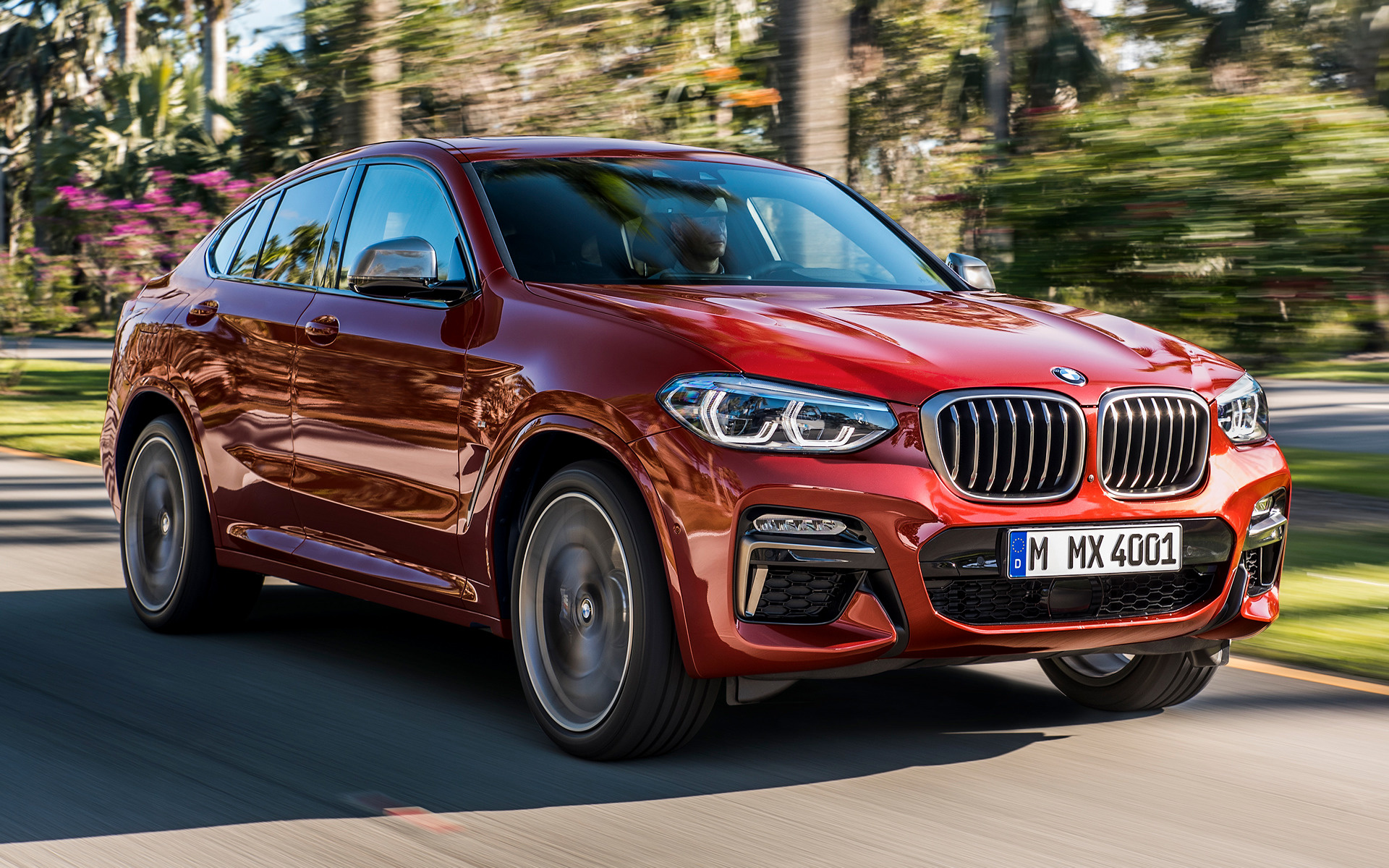 2018 Bmw X4 M40d Wallpapers And Hd Images Car Pixel