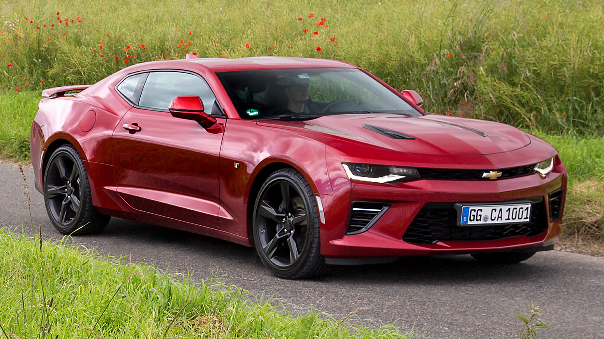 Chevrolet Camaro V8 2016 Eu Wallpapers And Hd Images