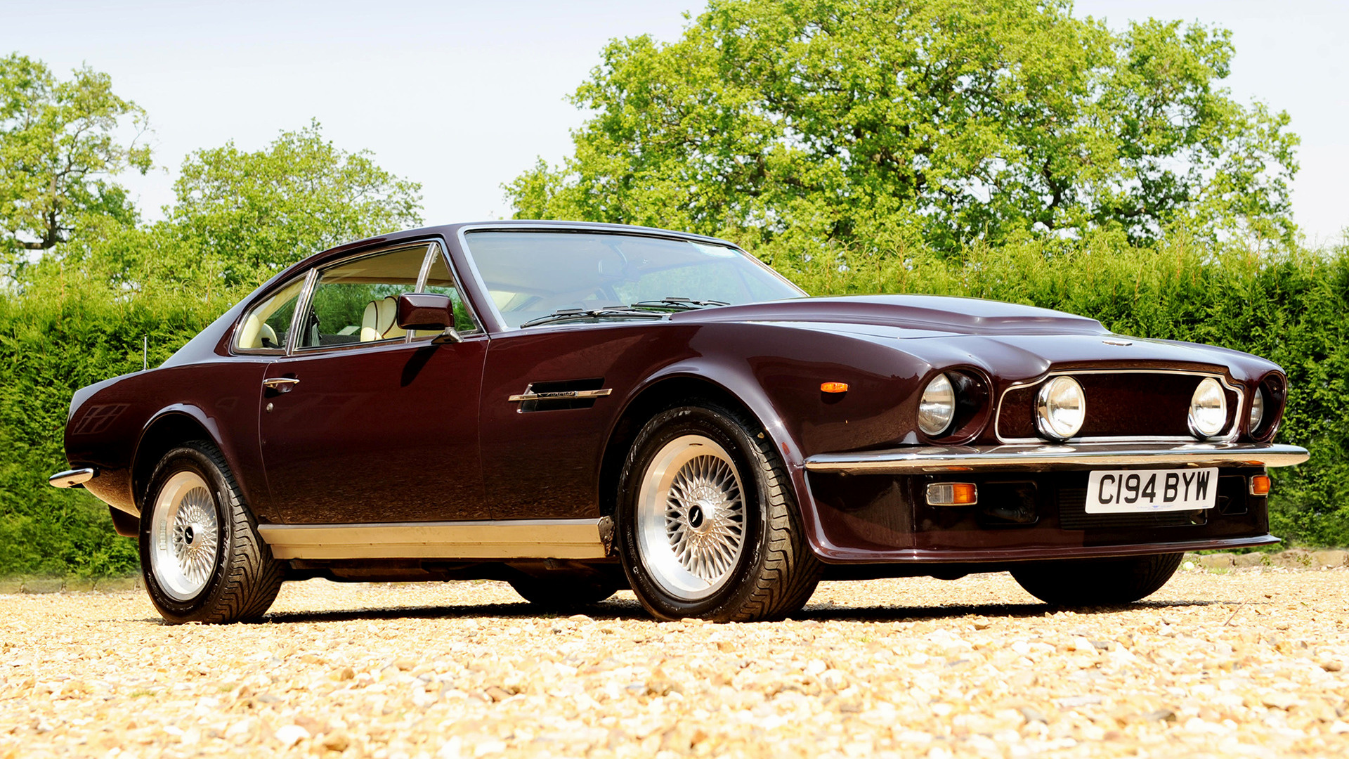 Aston Martin V Vantage Wallpaper Hd
