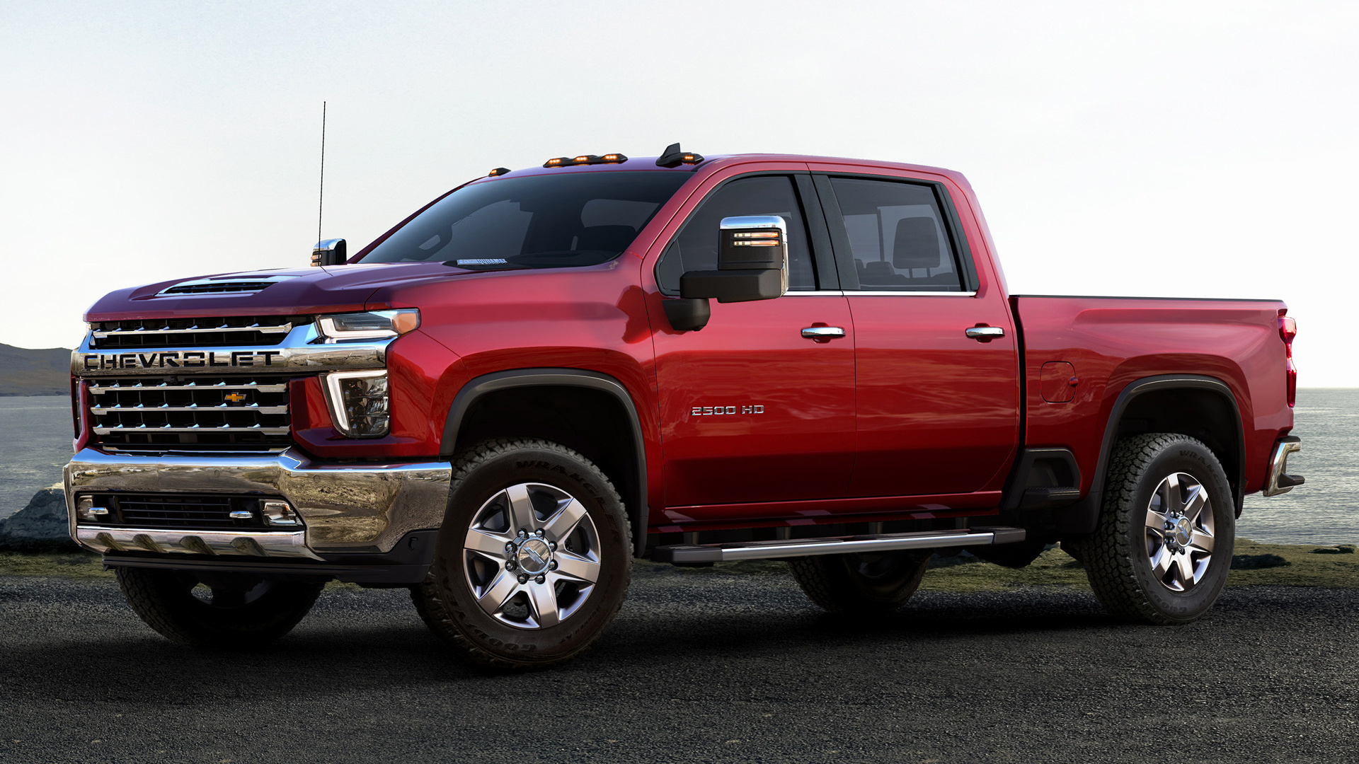 2020 Chevrolet Silverado 2500 HD LTZ Crew Cab - Wallpapers ...