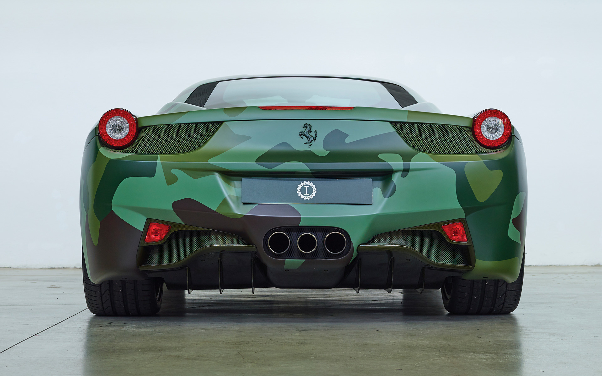 Ferrari 458 Italia Tailor Made Army 2013 Wallpapers And