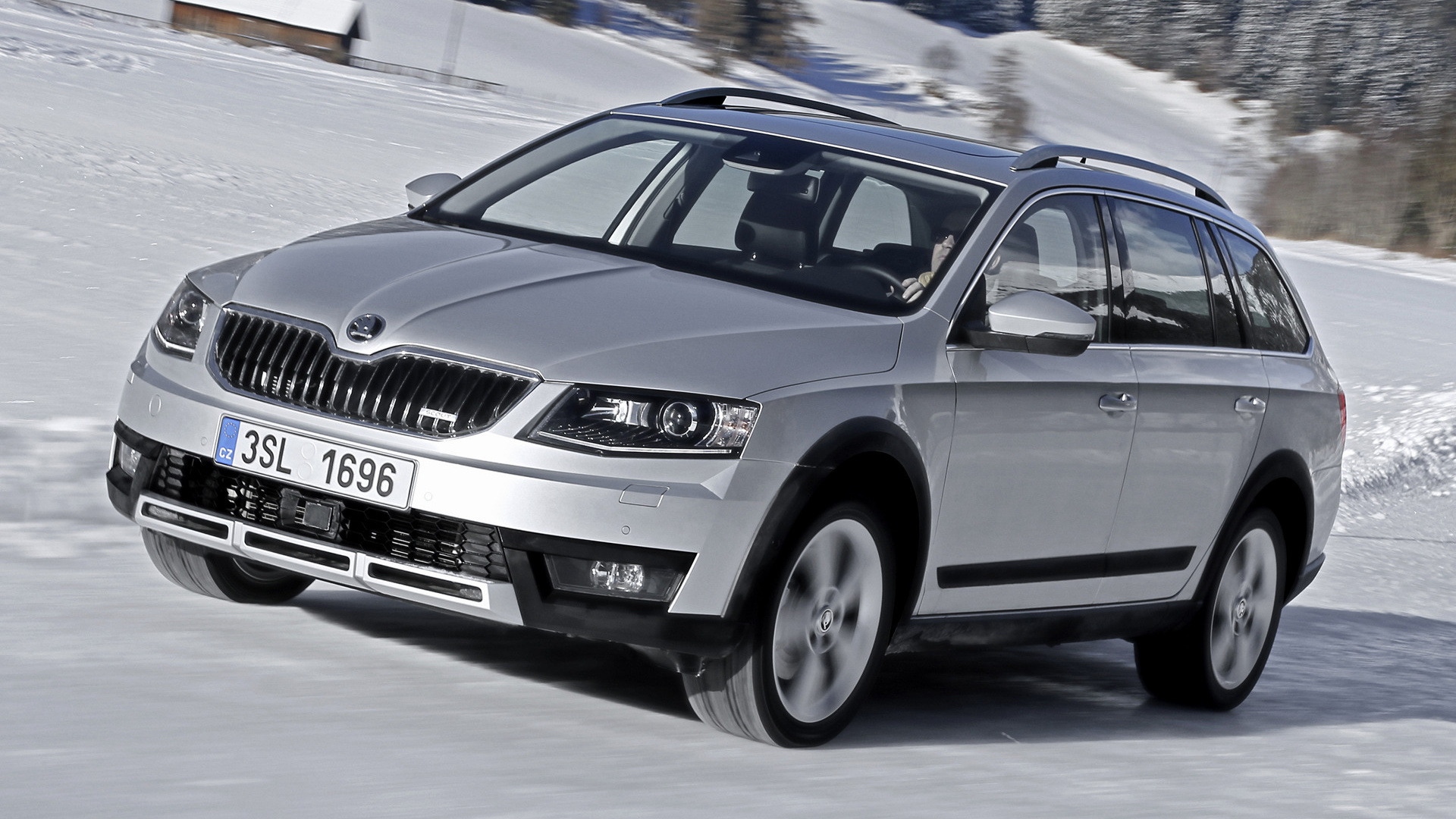 skoda octavia scout 2014 wallpapers and hd images car pixel. Black Bedroom Furniture Sets. Home Design Ideas