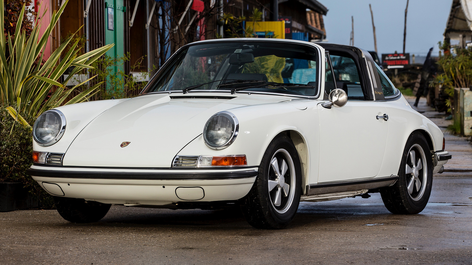 Targa Rwb Walpaper: 1966 Porsche 911 S Targa - Wallpapers And HD Images