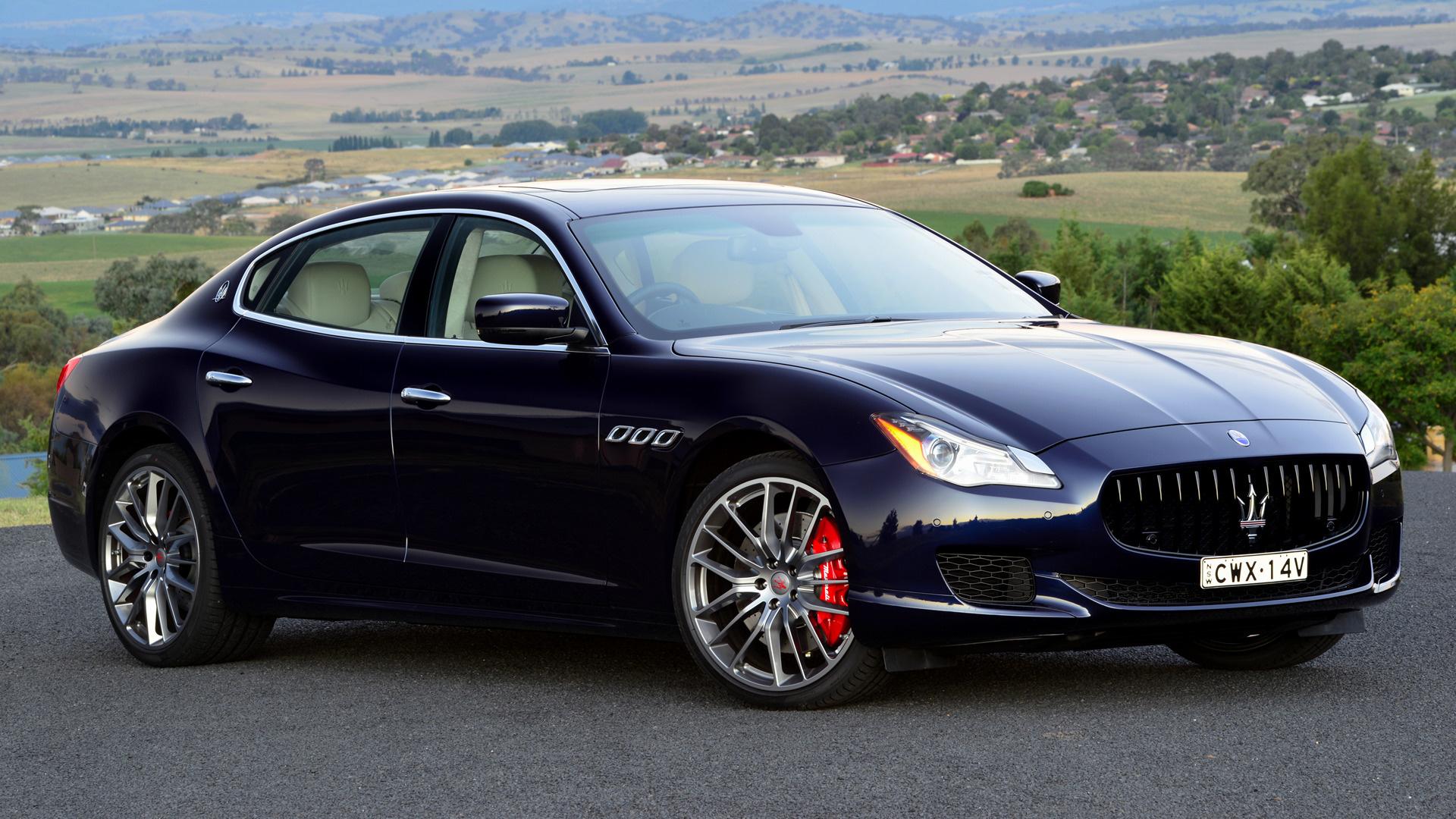 2014 Maserati Quattroporte GTS (AU) - Fonds d'écran et images HD | Car Pixel