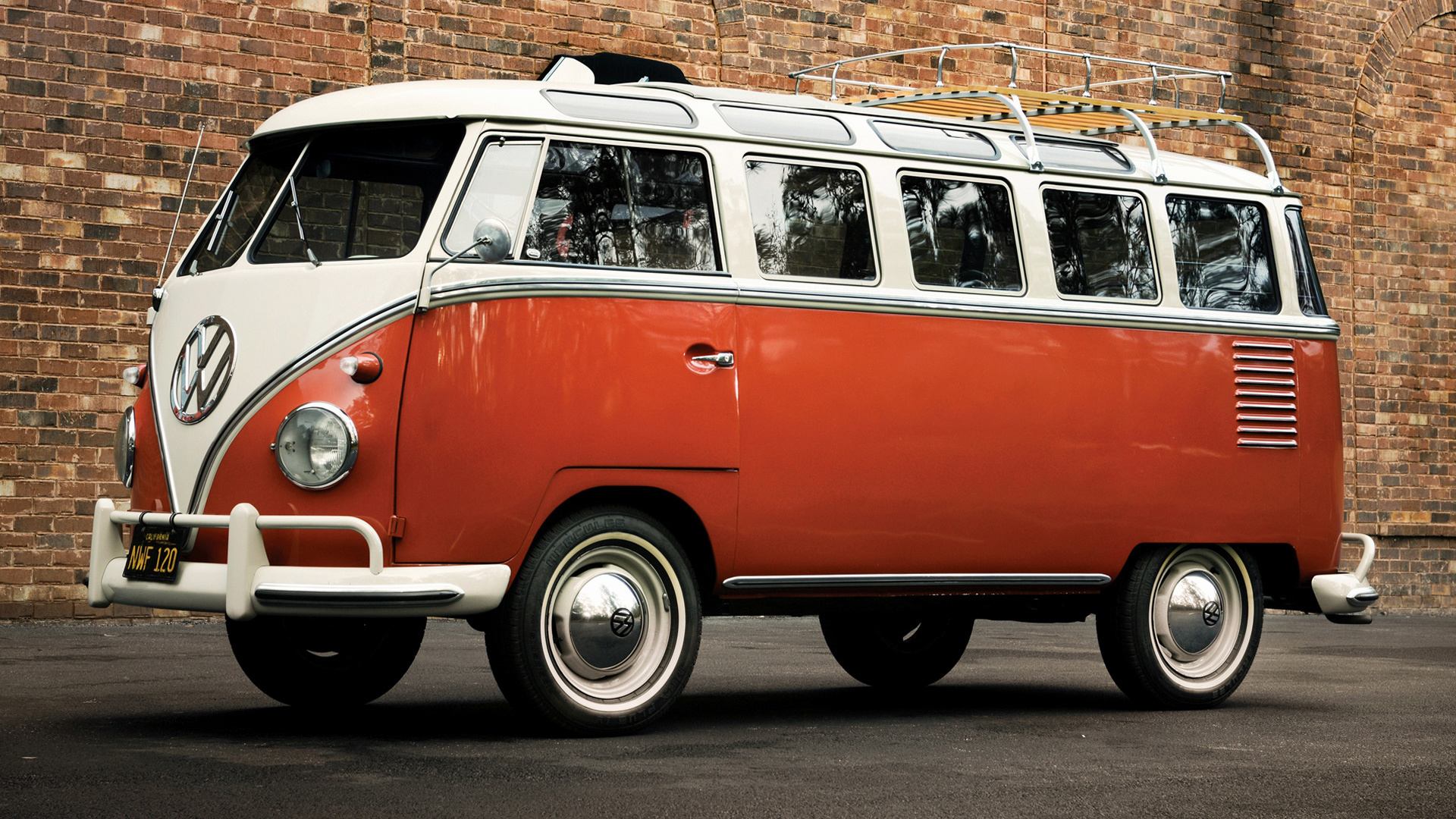 volkswagen t1 samba bus 1958 us wallpapers and hd images. Black Bedroom Furniture Sets. Home Design Ideas