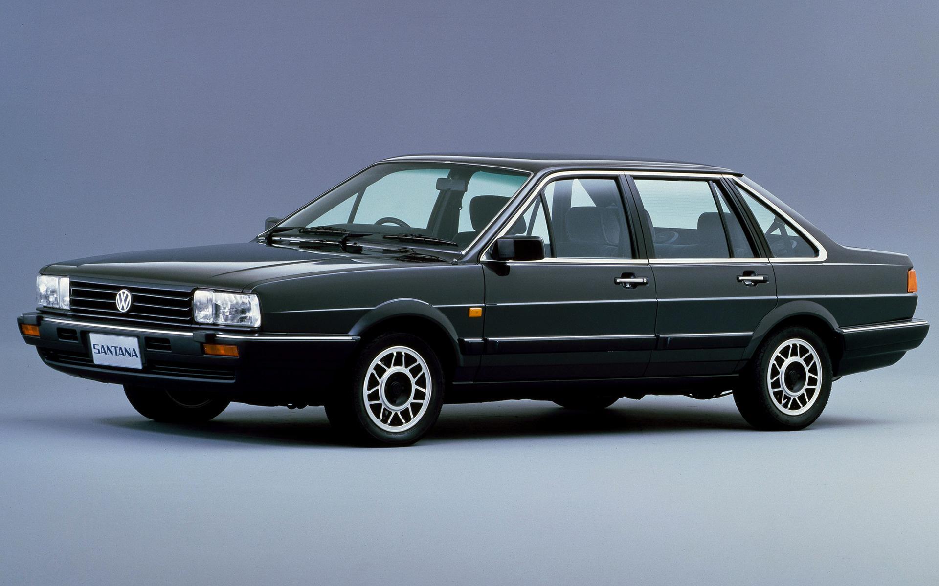 Volkswagen Santana Autobahn (1987) JP Wallpapers and HD ...