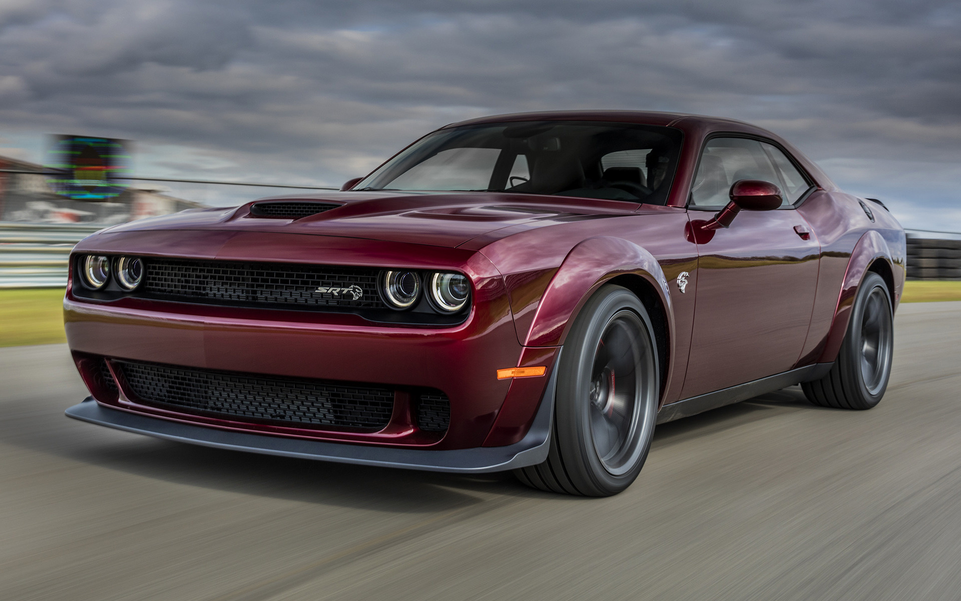 dodge challenger srt hellcat widebody (2018) wallpapers and hd