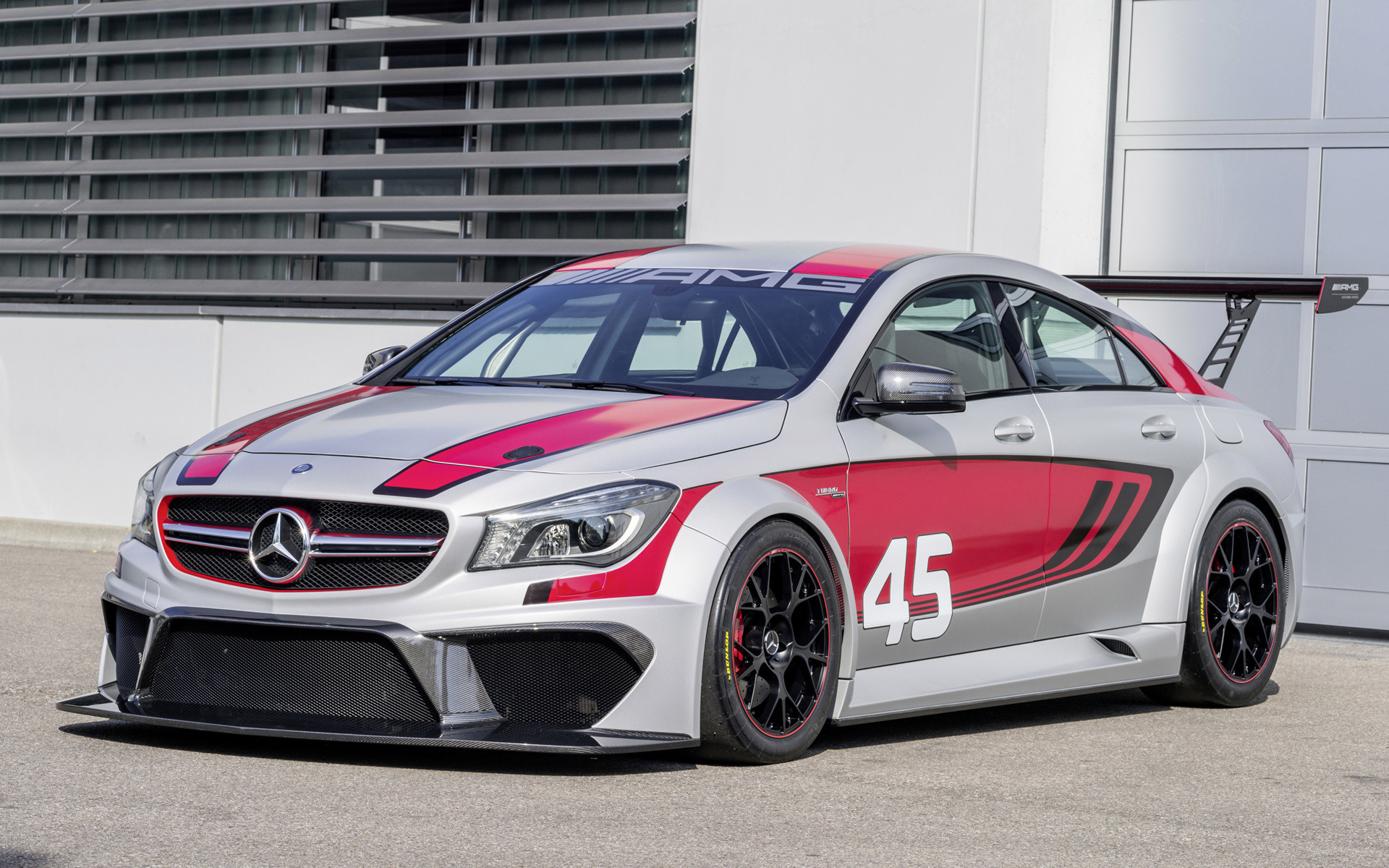 mercedes benz cla  amg racing series concept