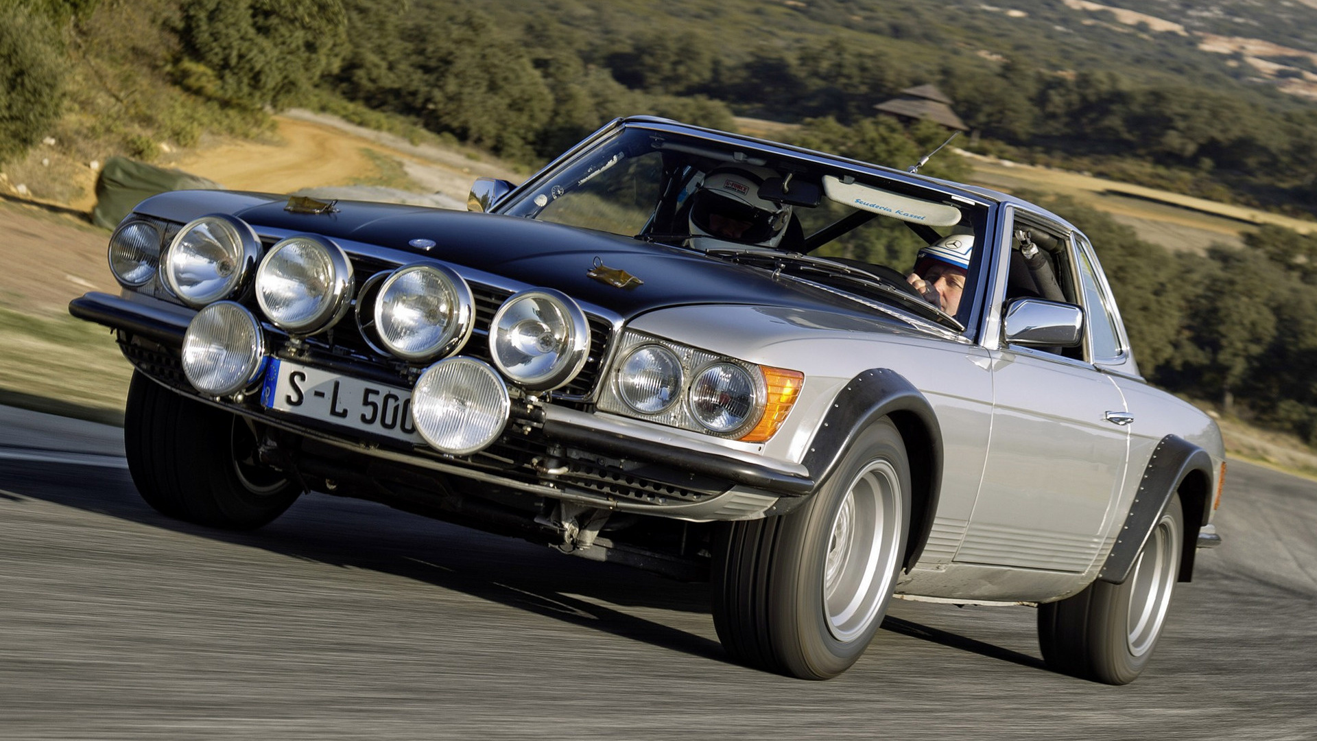 1980 Mercedes-Benz 500 SL Rallye - Wallpapers and HD ...