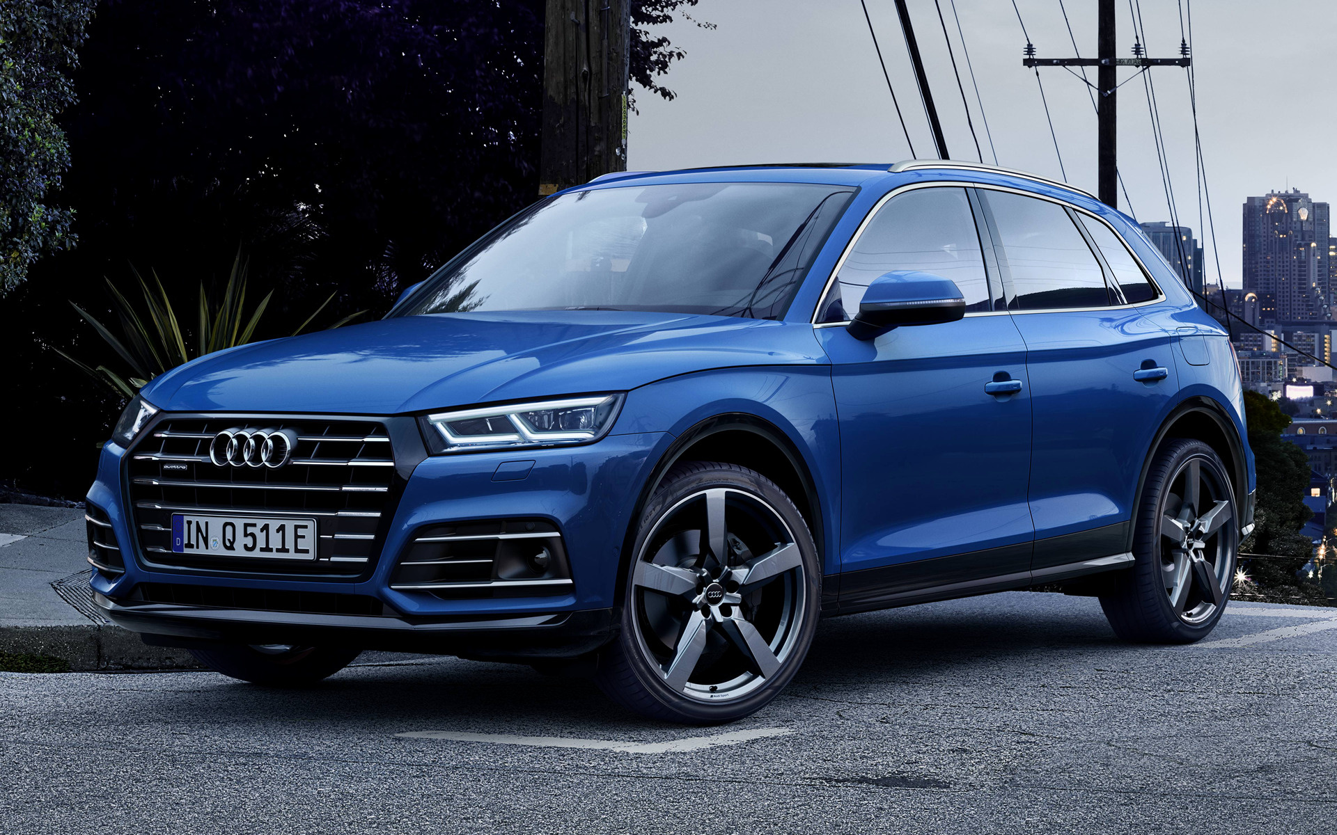 2019 Audi Q5 Plug-In Hybrid S line - Wallpapers and HD ...