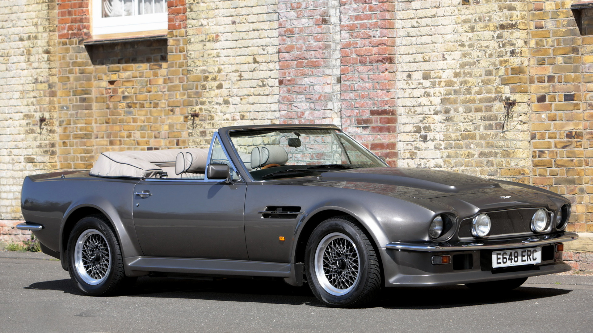 1987 Aston Martin V8 Vantage Volante X Pack Uk Wallpapers And Hd Images Car Pixel