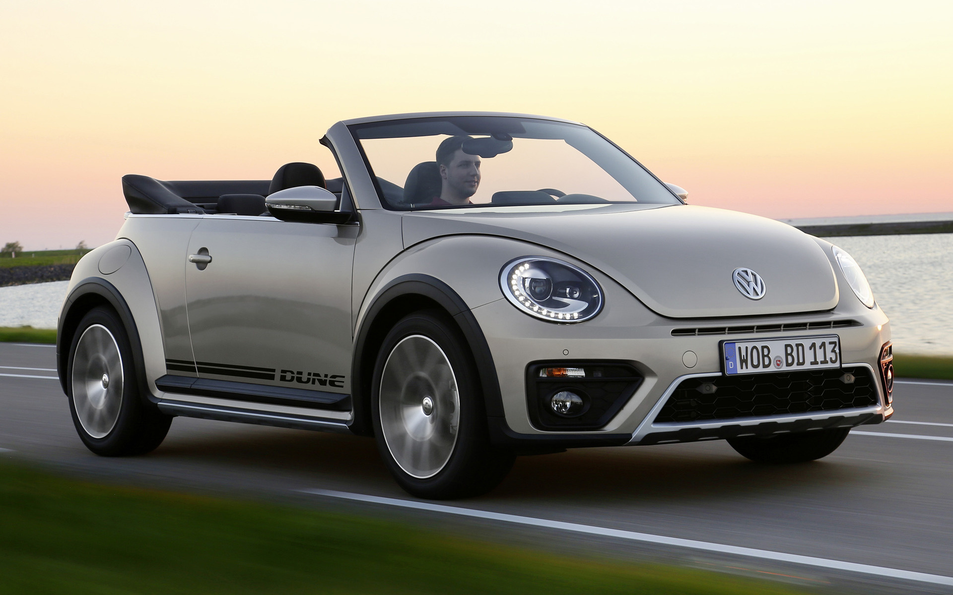 Volkswagen Beetle Convertible >> Volkswagen Beetle Dune Cabriolet (2016) Wallpapers and HD ...