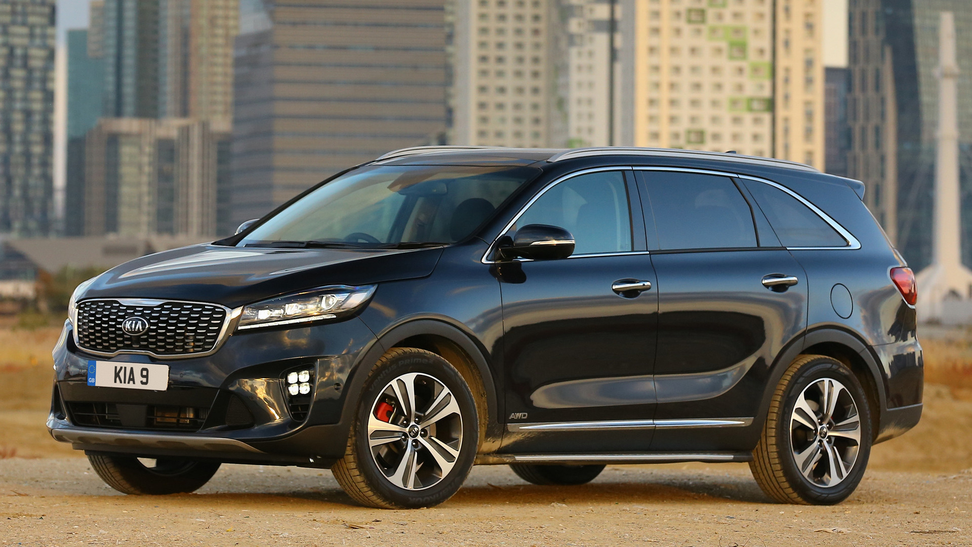 kia sorento gt line 2018 uk wallpapers and hd images car pixel. Black Bedroom Furniture Sets. Home Design Ideas