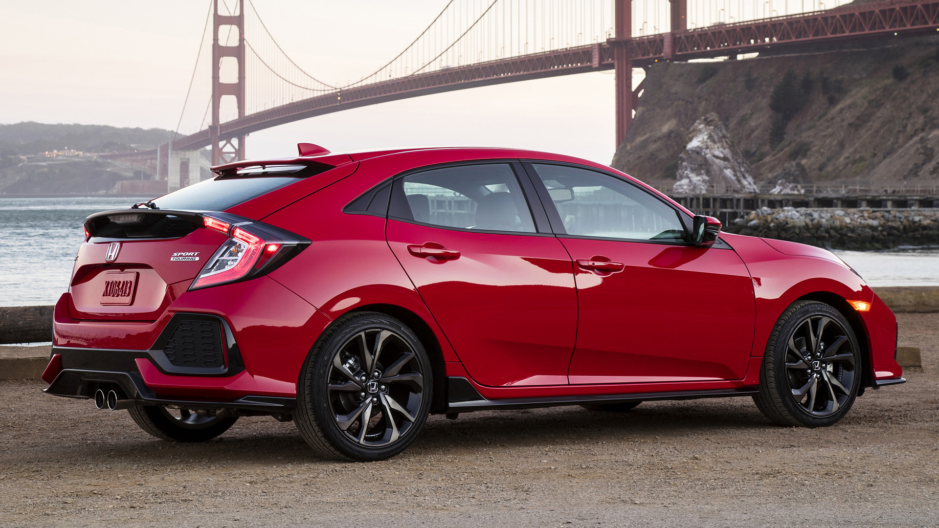 honda civic sport touring 2017 us wallpapers and hd images car pixel. Black Bedroom Furniture Sets. Home Design Ideas