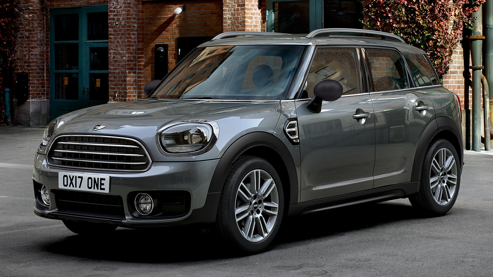 2017 mini one countryman wallpapers and hd images car. Black Bedroom Furniture Sets. Home Design Ideas